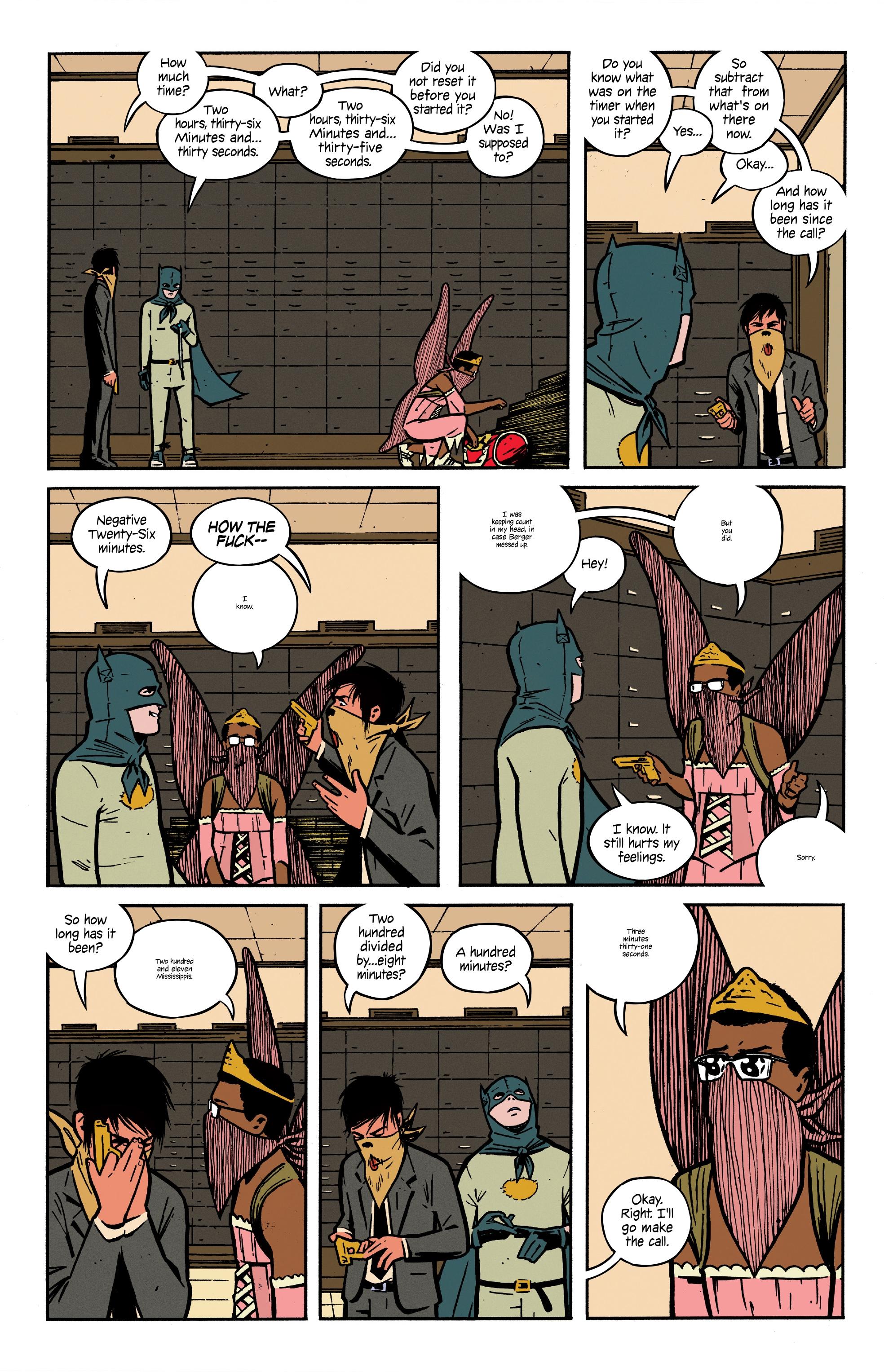 4个孩子走进银行(2016-): Chapter 5 - Page 4个孩子走进银行(2016-)