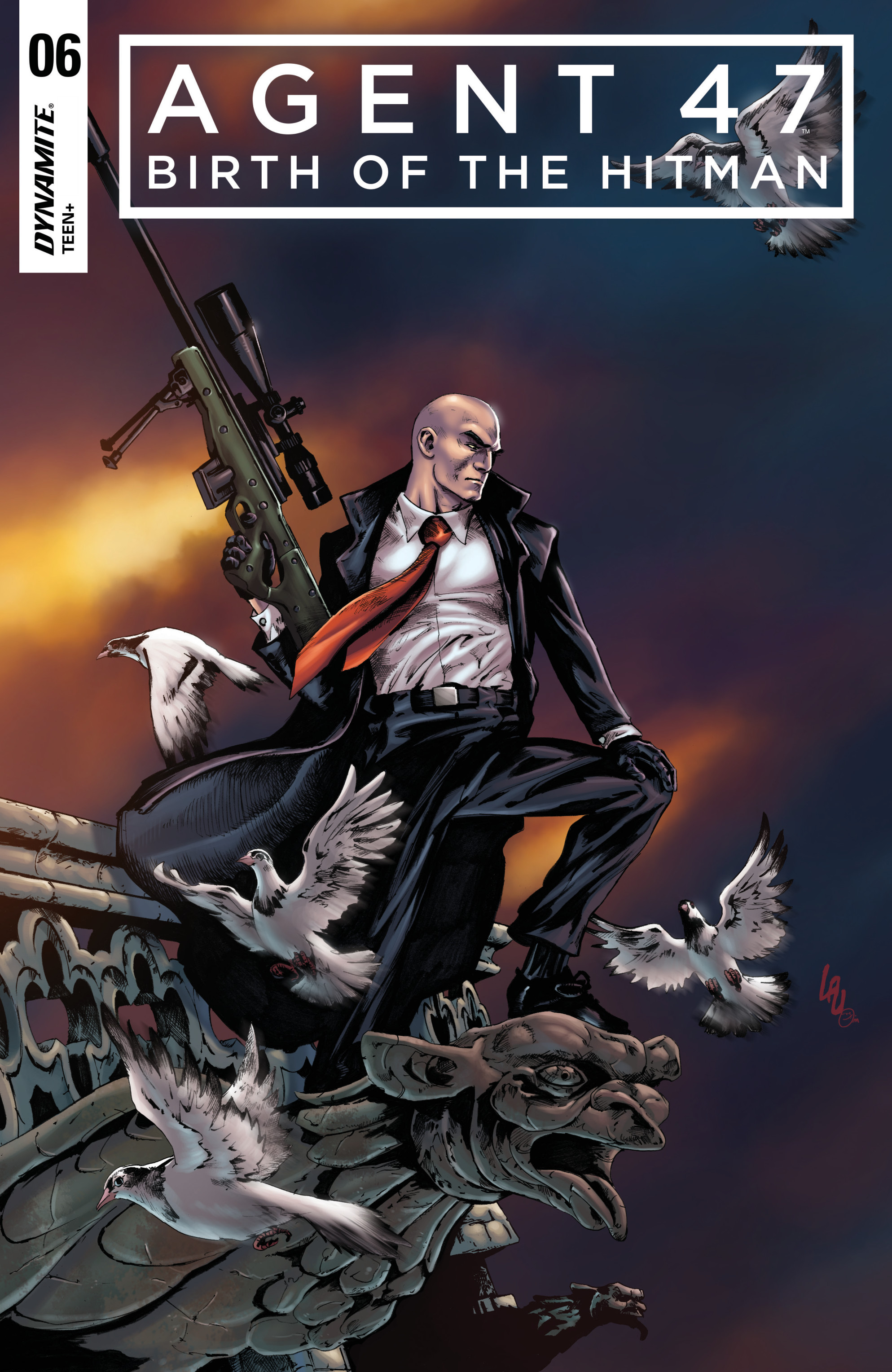 Agent 47 Birth Of The Hitman 2017 Chapter 6 Page 1