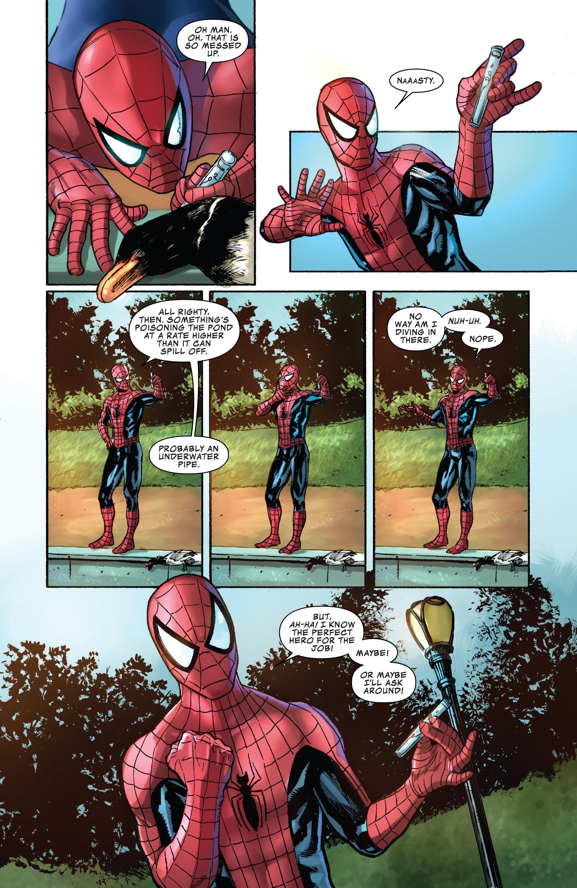 Spiderman Comic Page