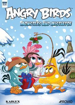 愤怒的小鸟漫画季刊:怪物和槲寄生(2017)