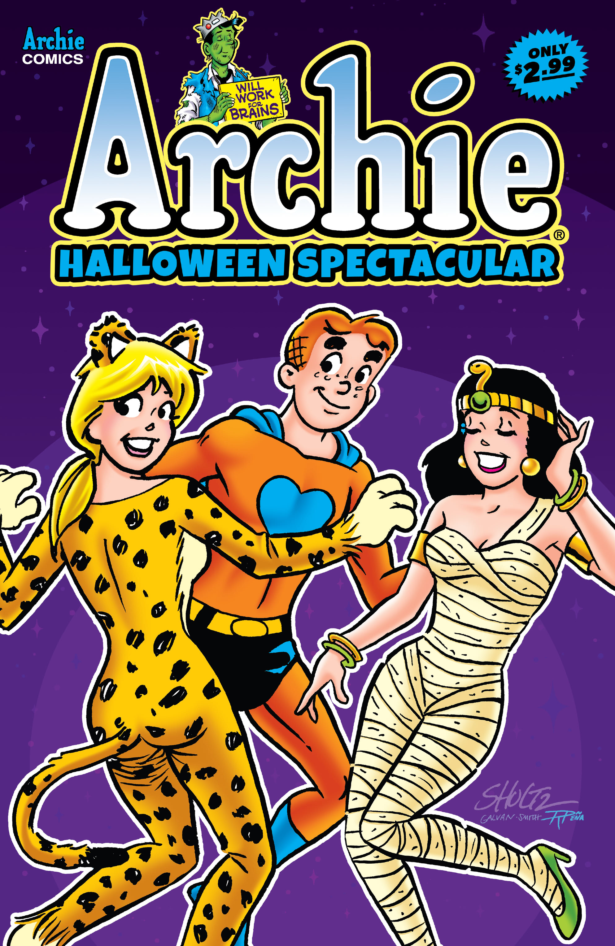 Archie Halloween Spectacular 2020 Archie Halloween Spectacular (2020) Chapter 1   Page 1