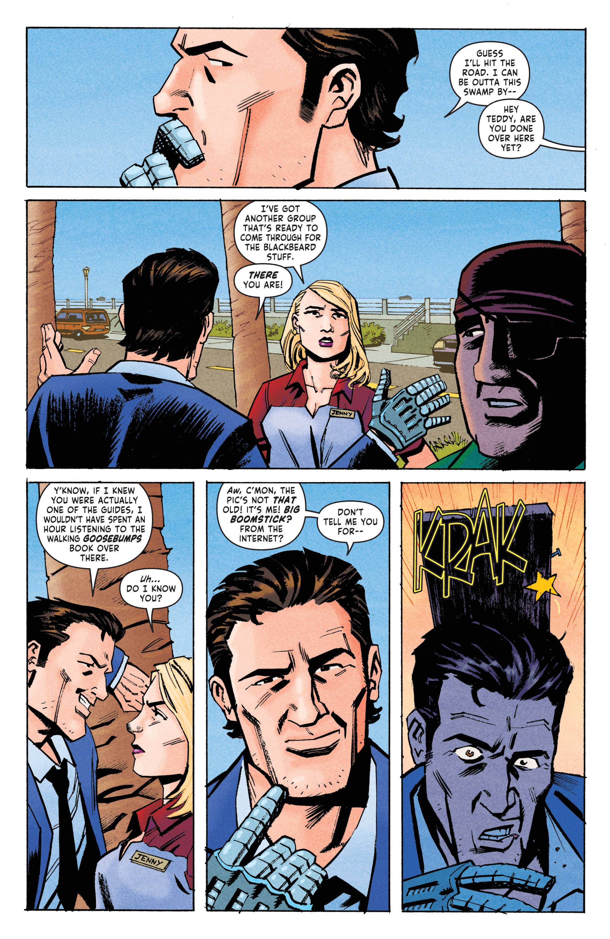 Army Of Darkness: Halloween Special (2018): Chapter 1 - Page Army Of Darkness: Halloween Special (2018)