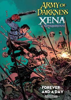 黑暗军团Xena战士公主永远...和一天