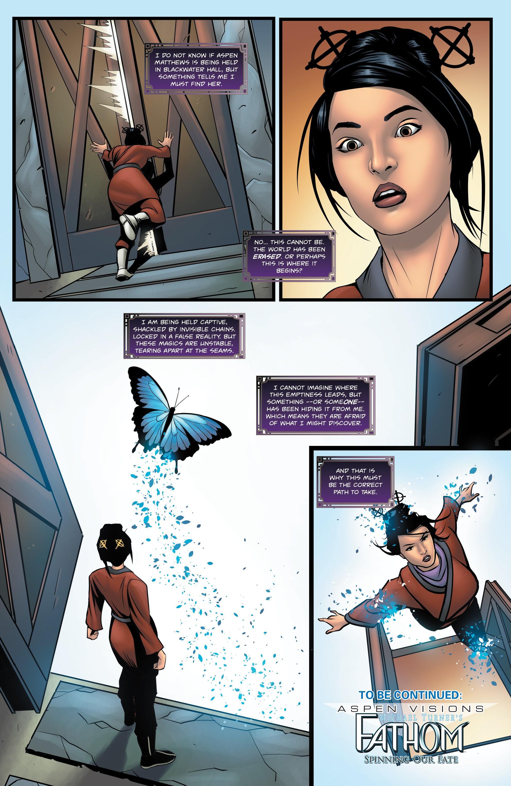ASPEN VISIONS:执行助理:Iris Vol。 : Chapter 1 - Page ASPEN VISIONS:执行助理:Iris Vol。