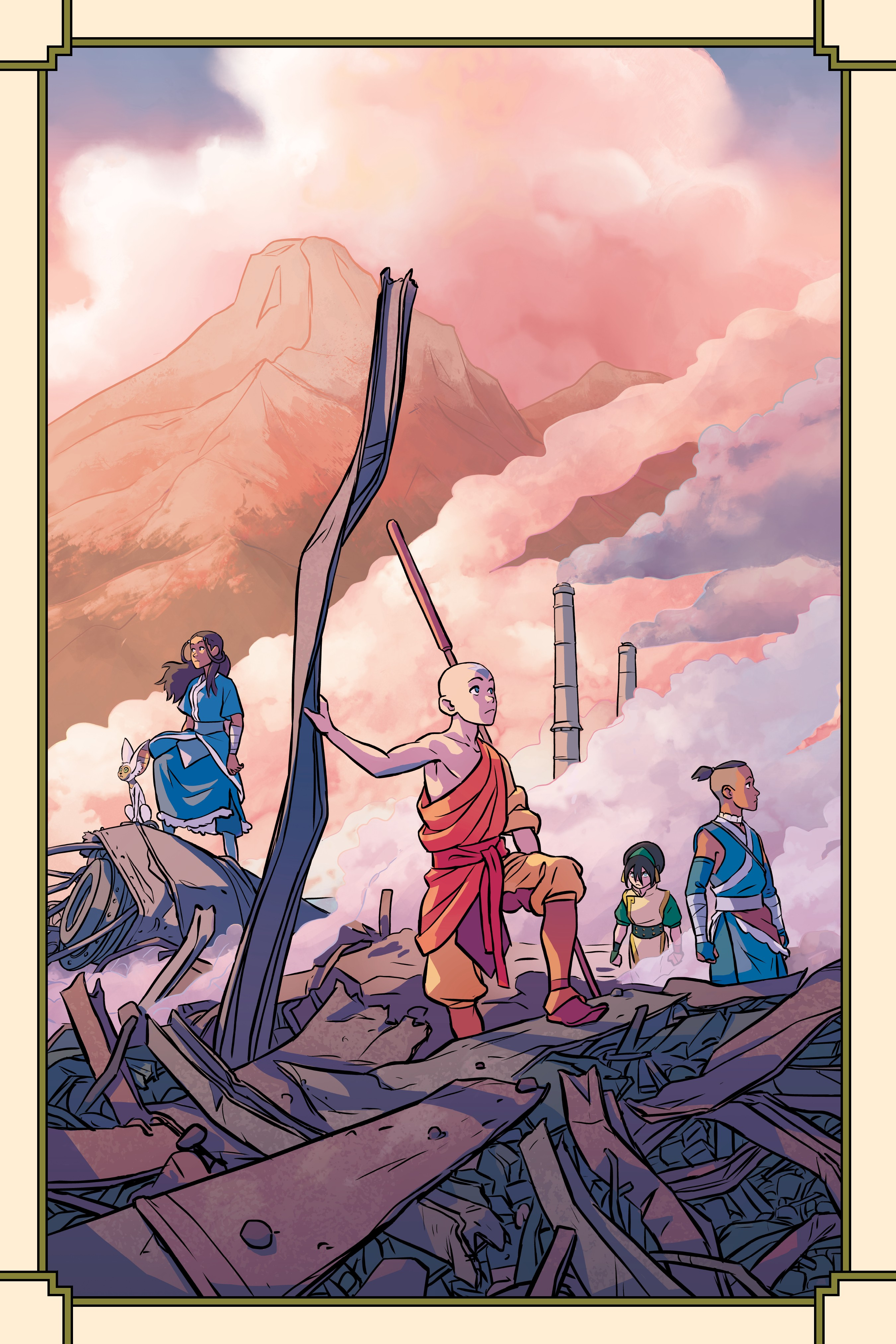 Avatar: The Last Airbender - Imbalance (2018-) Chapter 2