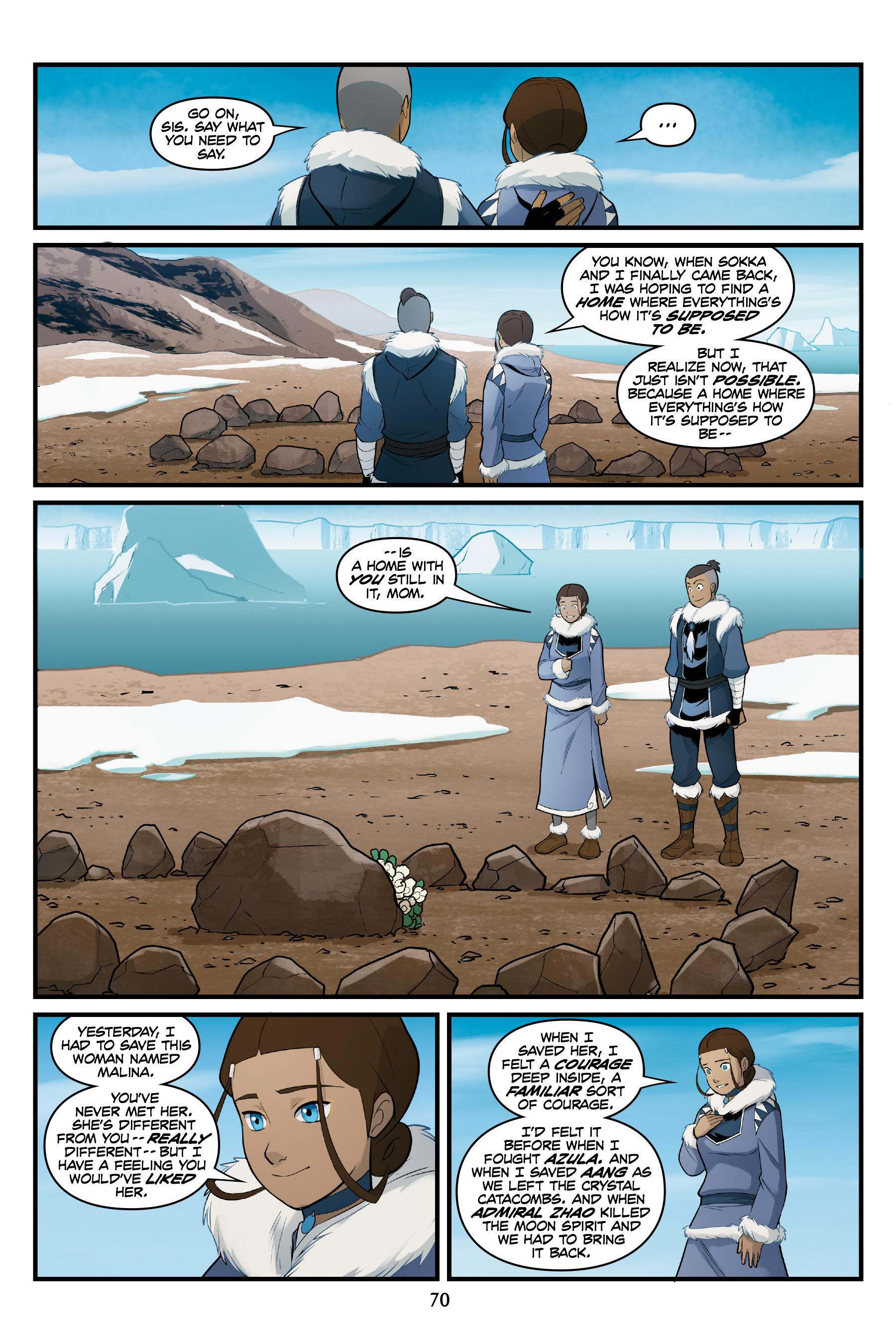 阿凡达:最后的气宗 - 北方和南方: Chapter 3 - Page 阿凡达:最后的气宗 - 北方和南方