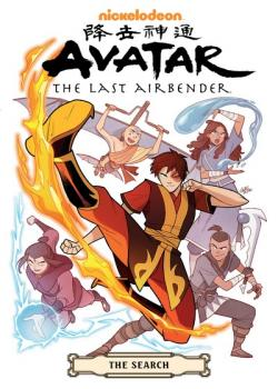 Avatar: The Last Airbender--The Search Omnibus (2020)