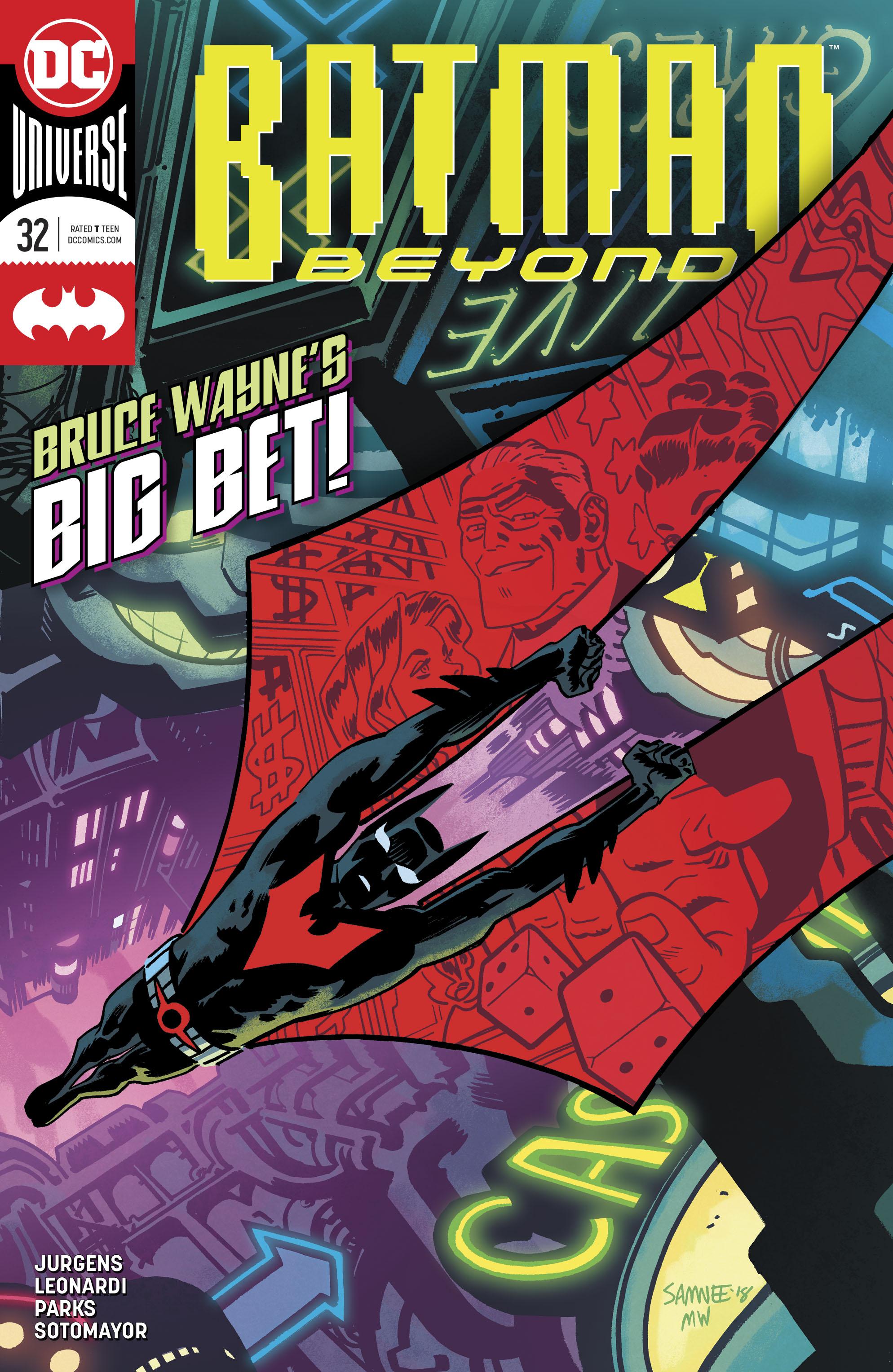 Batman Beyond (2016-): Chapter 32 - Page 1