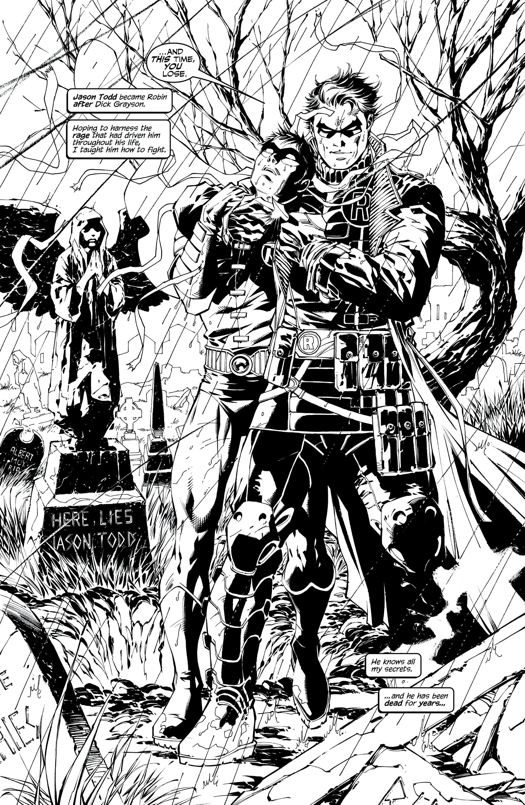 Batman Noir: Hush (2015): Chapter 1 - Page Batman Noir: Hush (2015)