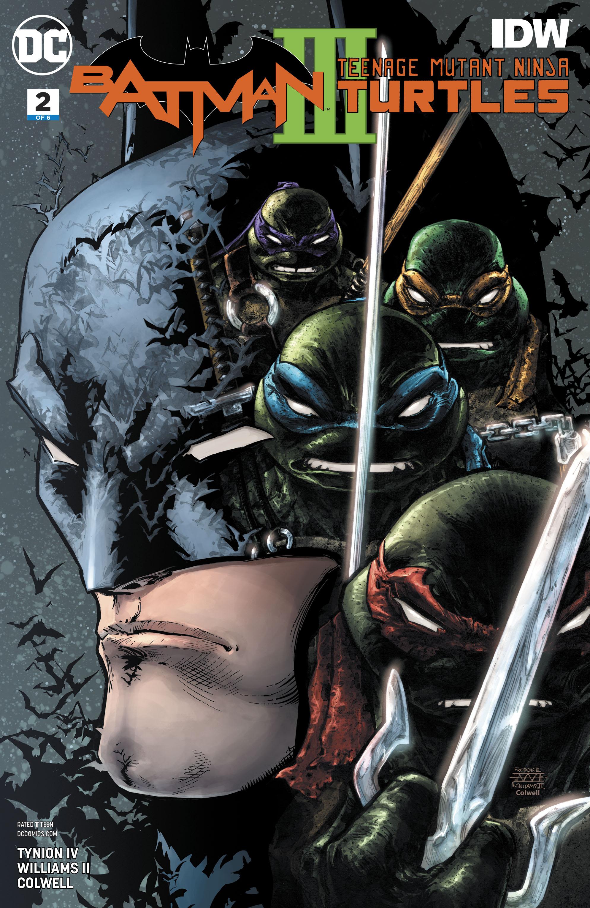Batman/Teenage Mutant Ninja Turtles III (2019-): Chapter 2 - Page 1