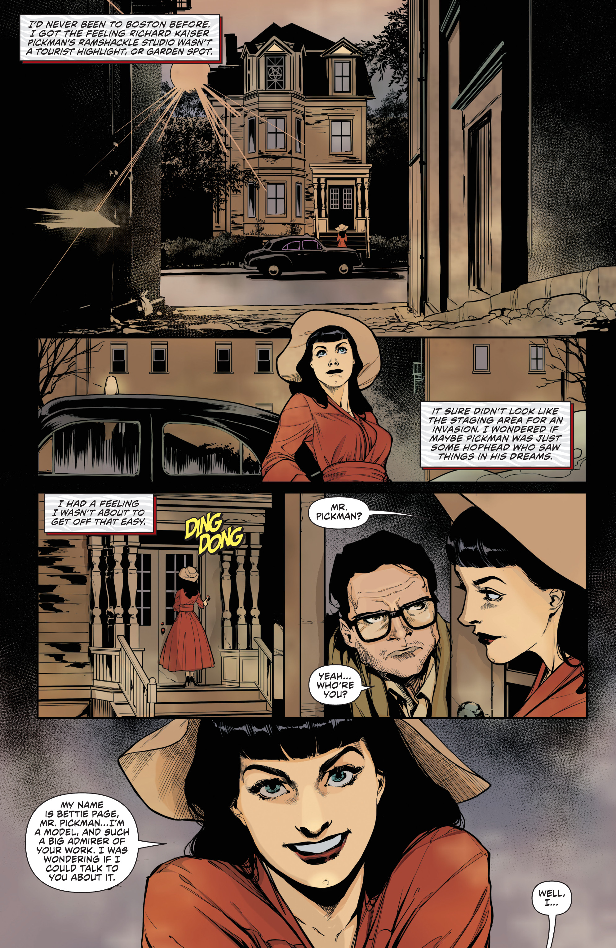 Bettie Page: Halloween Special (2018): Chapter 1 - Page Bettie Page: Halloween Special (2018)