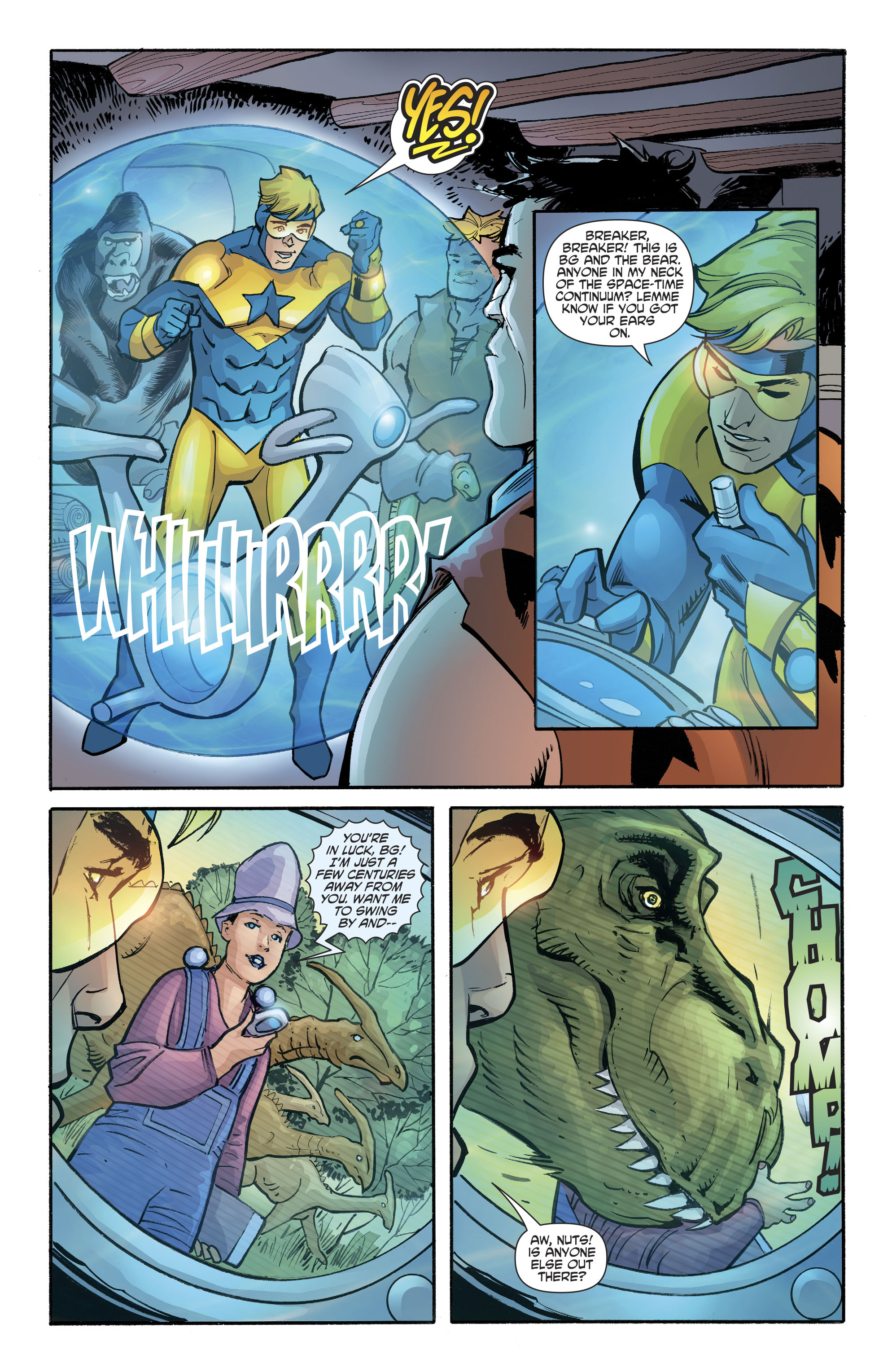 Booster Gold/The Flintstones Special (2017): Chapter 1 - Page Booster Gold/The Flintstones Special (2017)