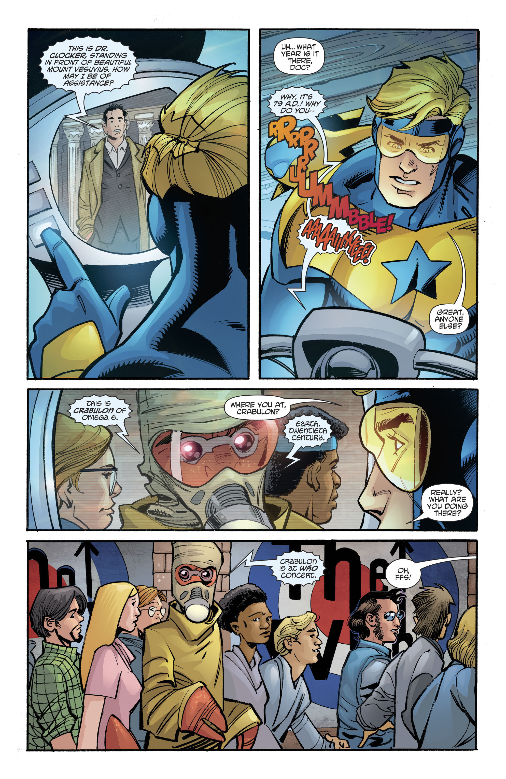Booster Gold / The Flintstones Special(2017): Chapter 1 - Page Booster Gold / The Flintstones Special(2017)