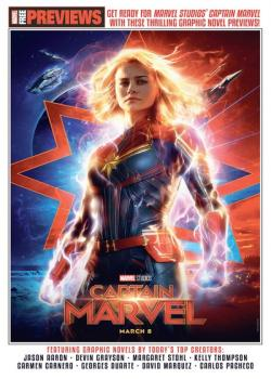 Captain Marvel Start Here Sampler 2019