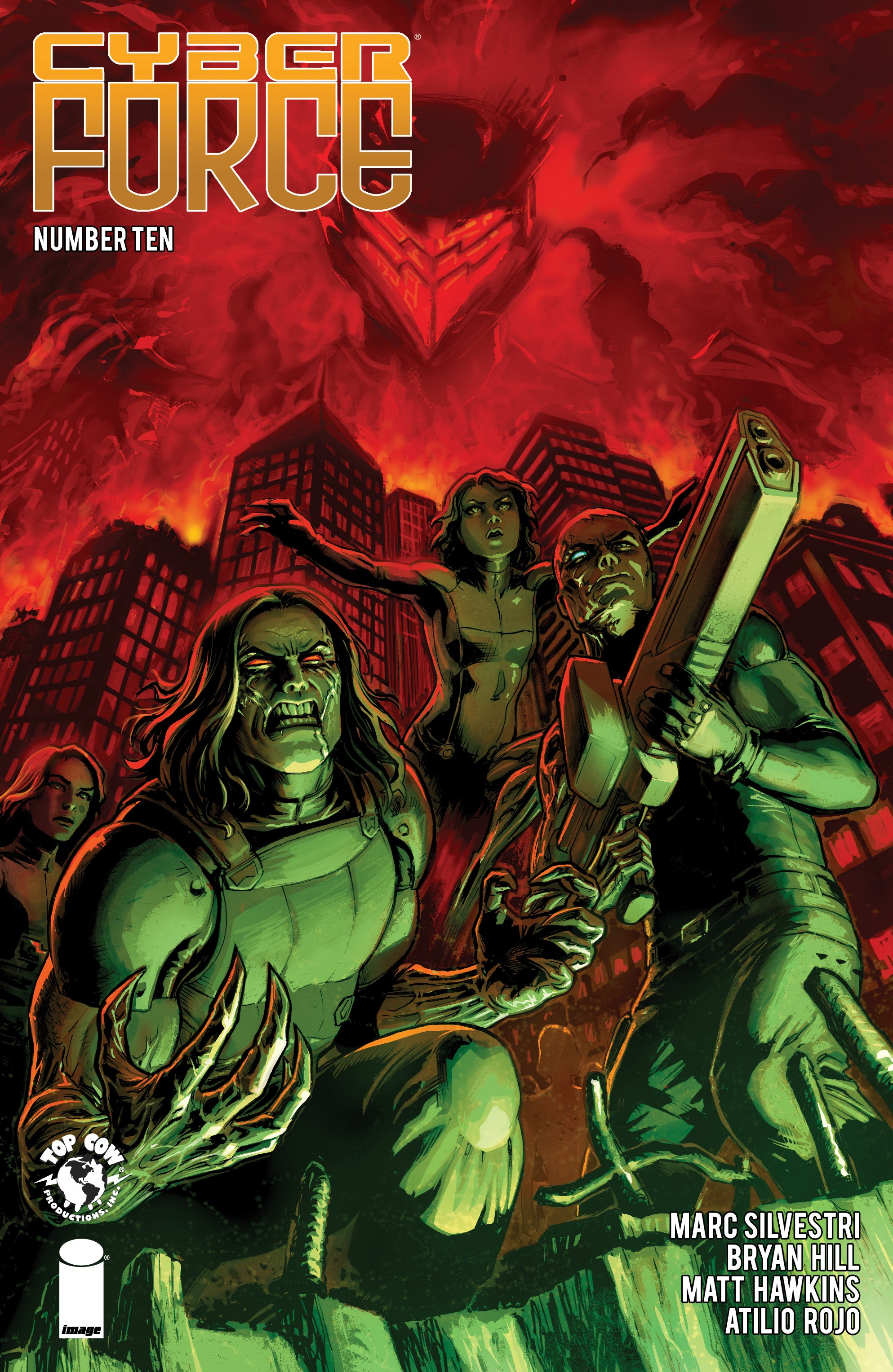 Cyber Force (2018-): Chapter 10 - Page 1