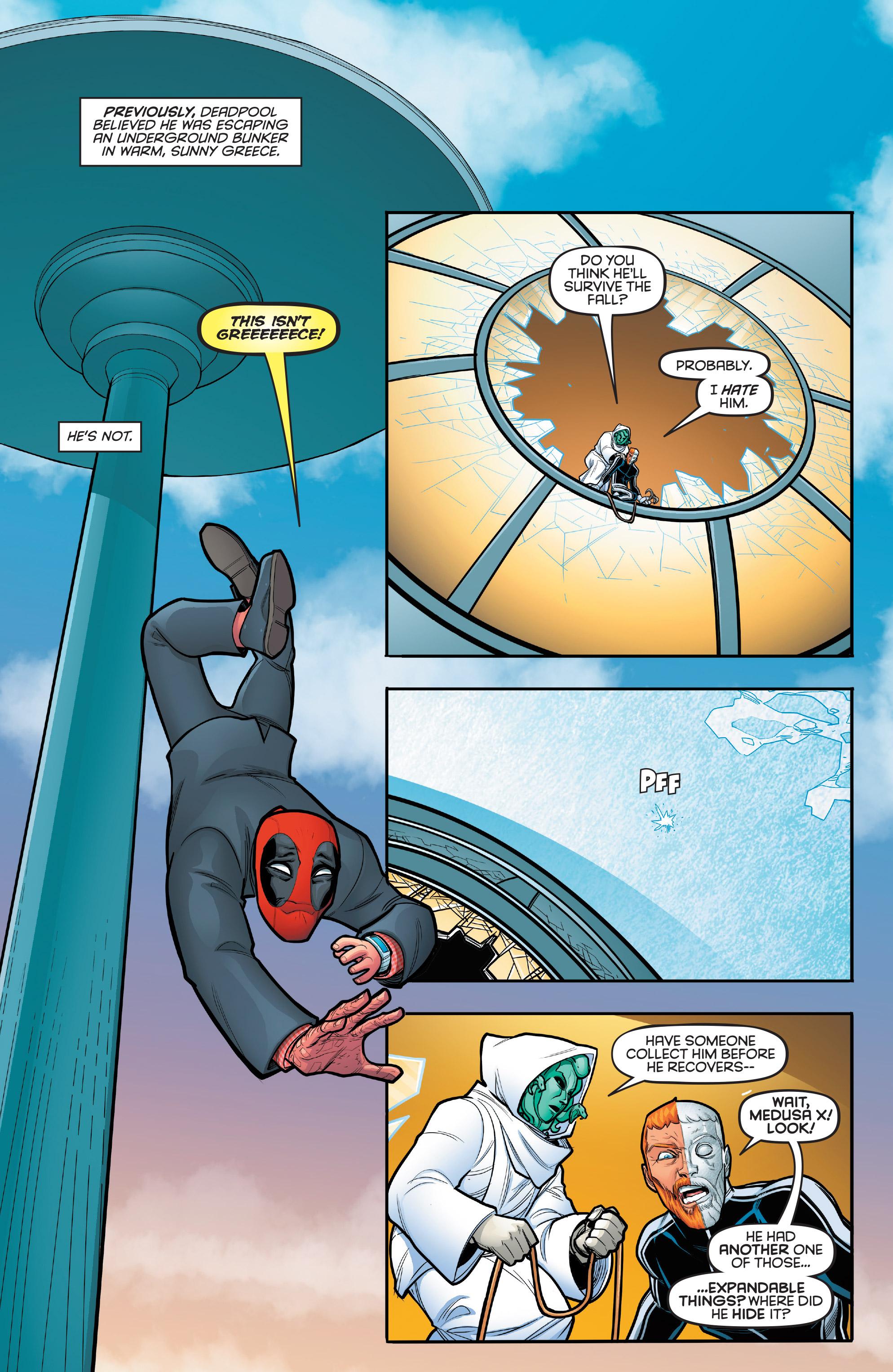 Deadpool: Secret Agent Deadpool (2018-) Chapter 5 - Page 3