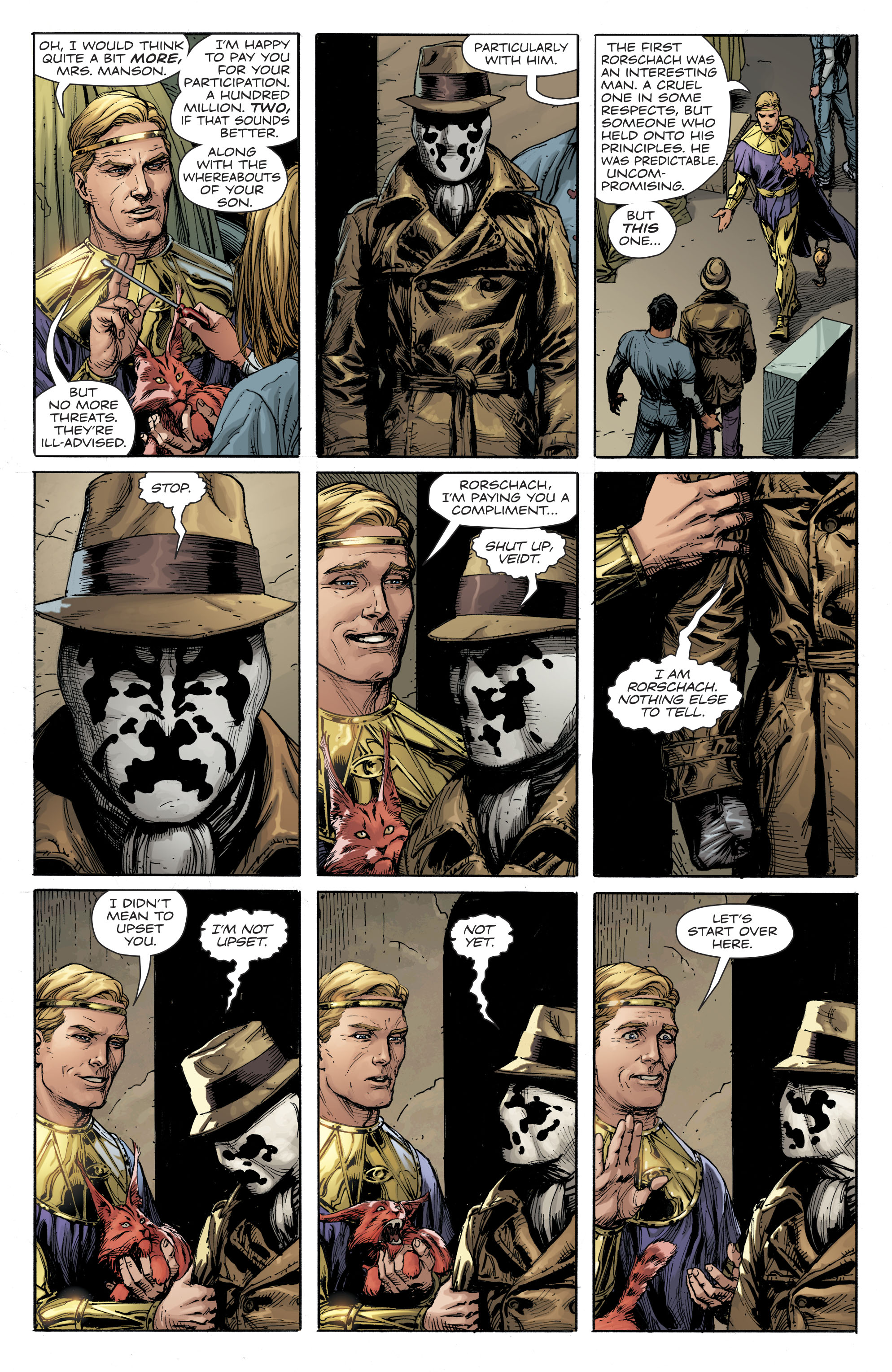 Doomsday Clock 2017 Chapter 1 Page 28