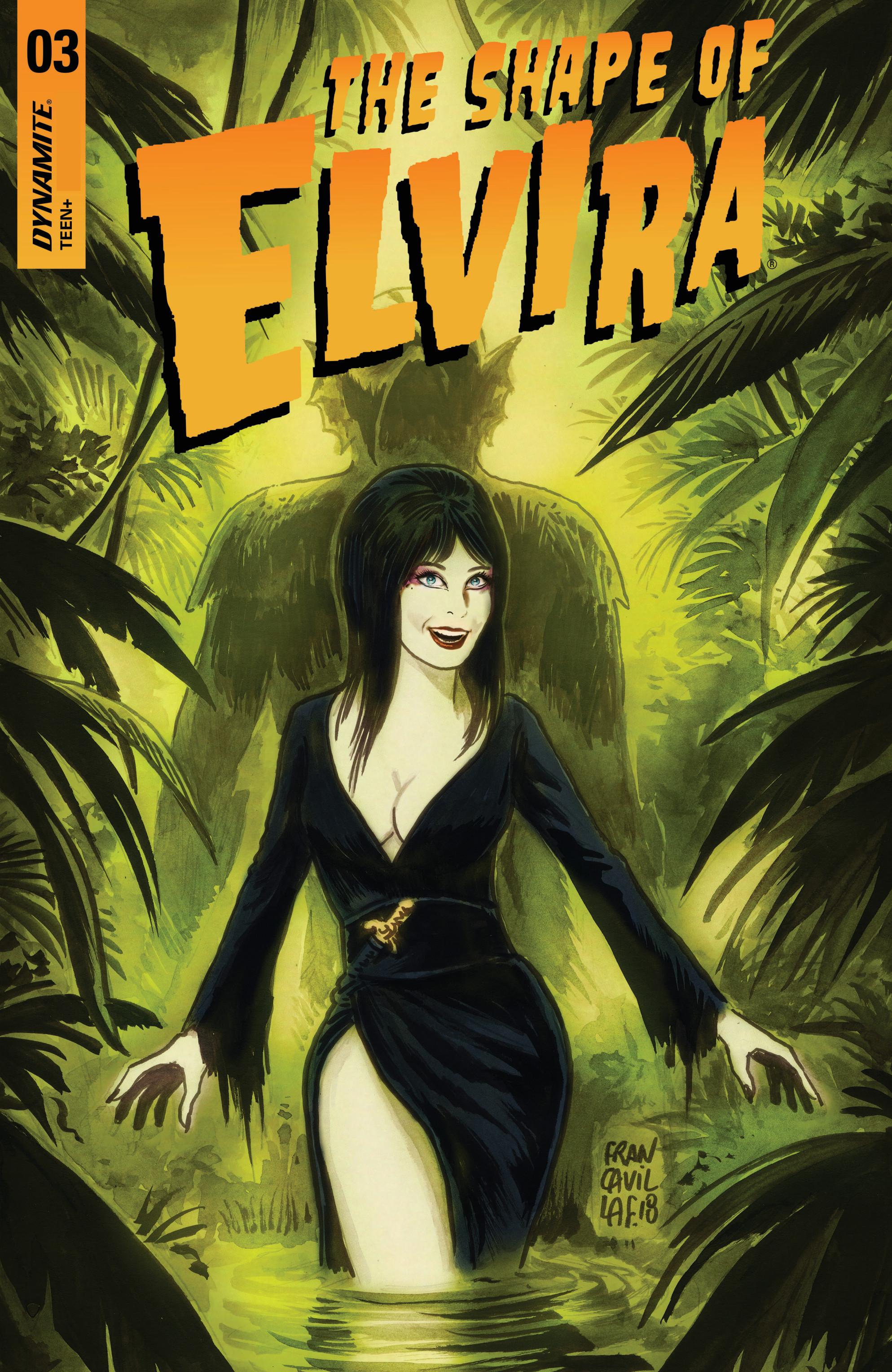 Elvira: The Shape Of Elvira (2019-): Chapter 3 - Page 1