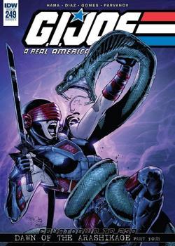 G.I. Joe: A Real American Hero vs. the Six Million Dollar Man (2018)