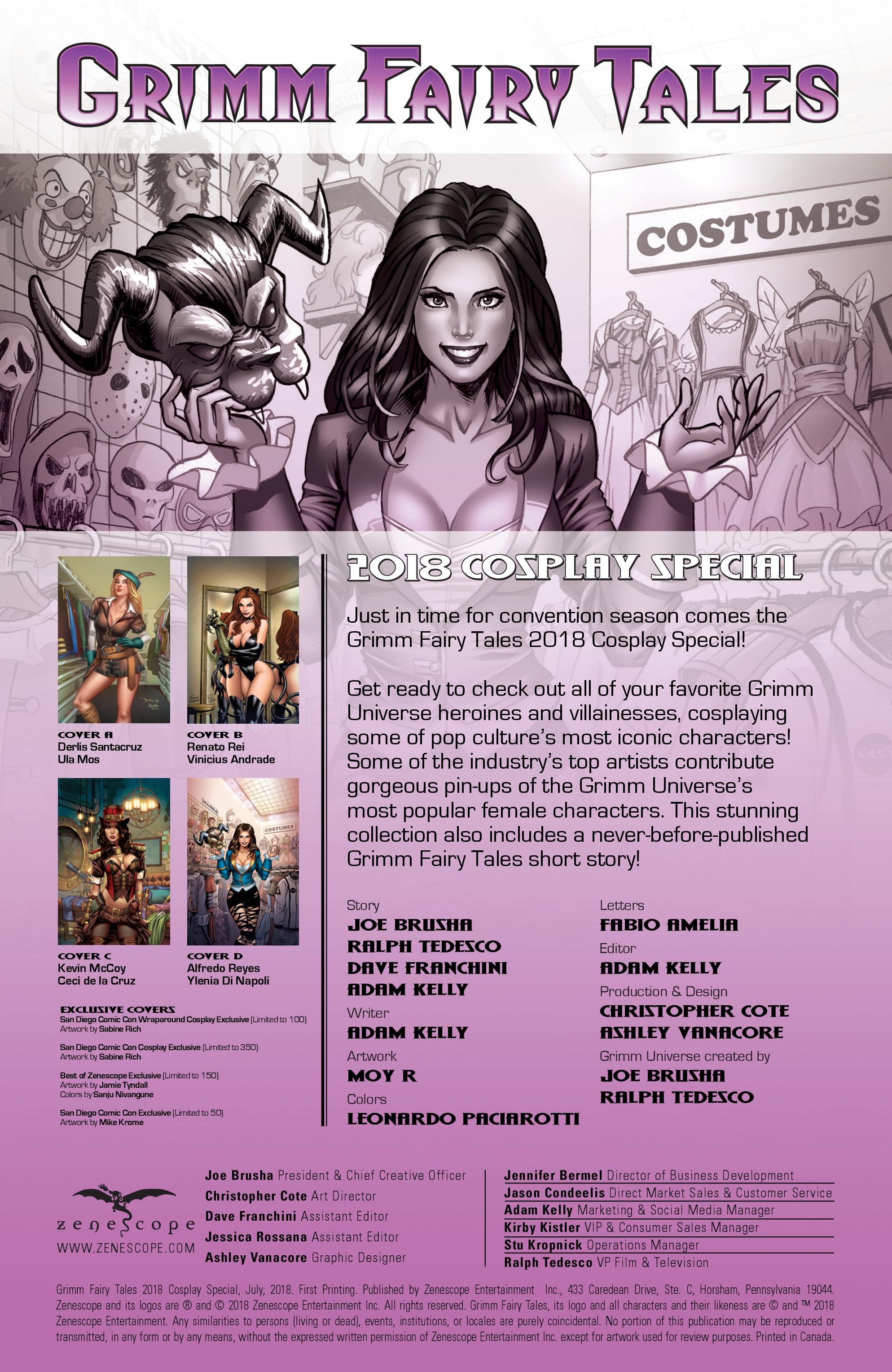 格林童话故事:2018年Cosplay Special: Chapter 1 - Page 格林童话故事:2018年Cosplay Special