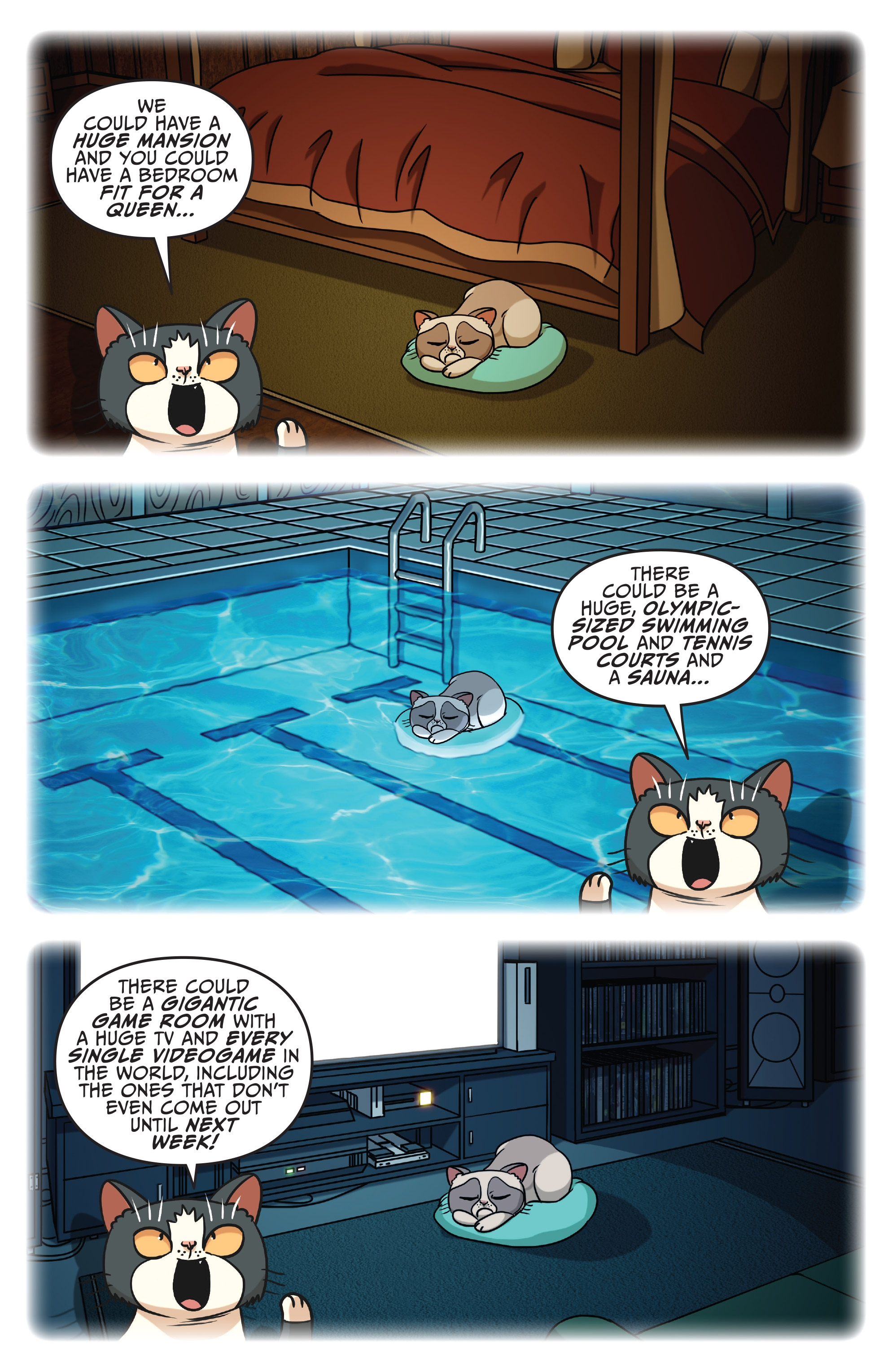 Grumpy Cat Garfield 2017 Chapter 1 Page 21