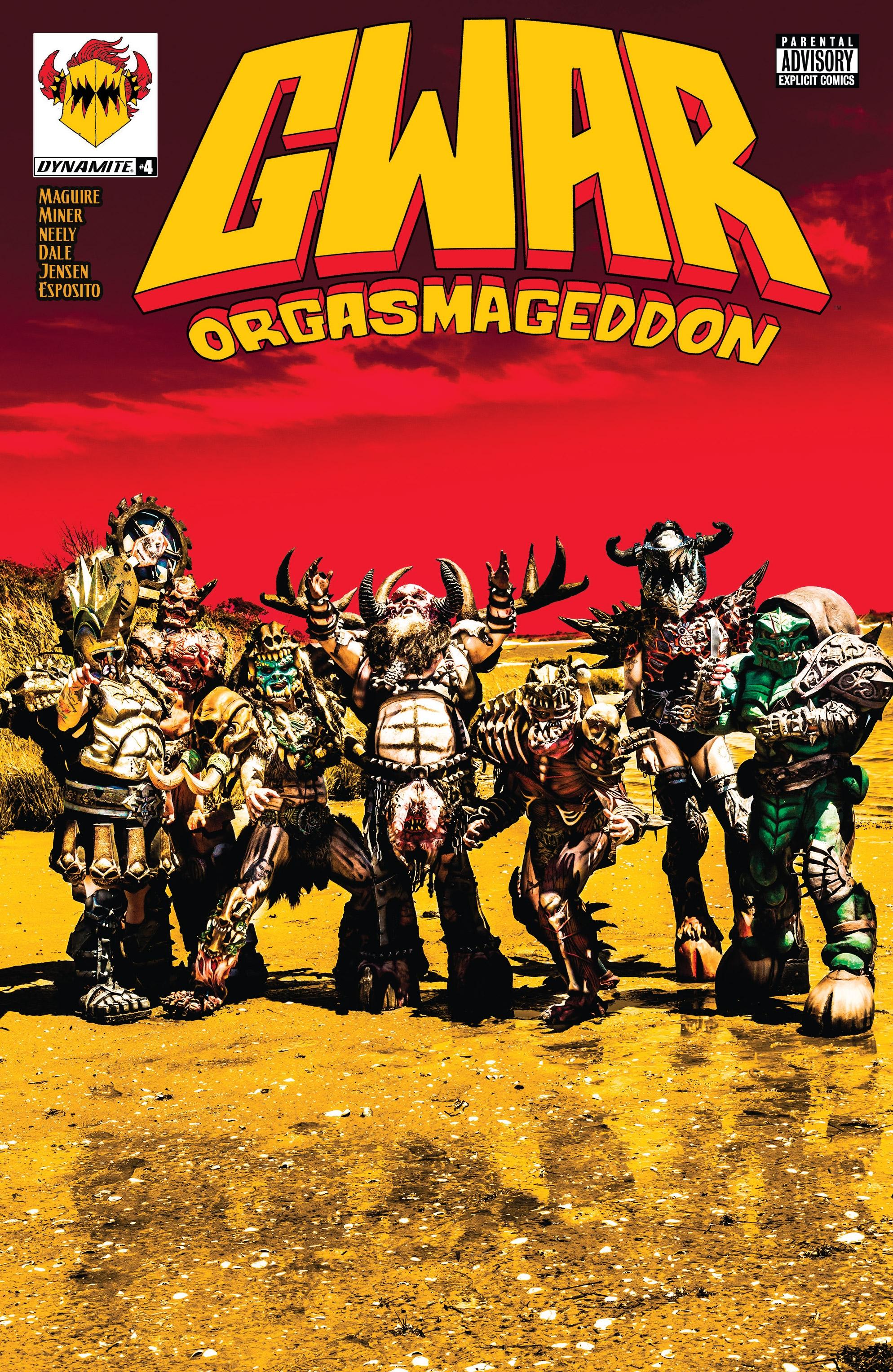 Gwar:Orgasmageddon(2017): Chapter 4 - Page Gwar:Orgasmageddon(2017)