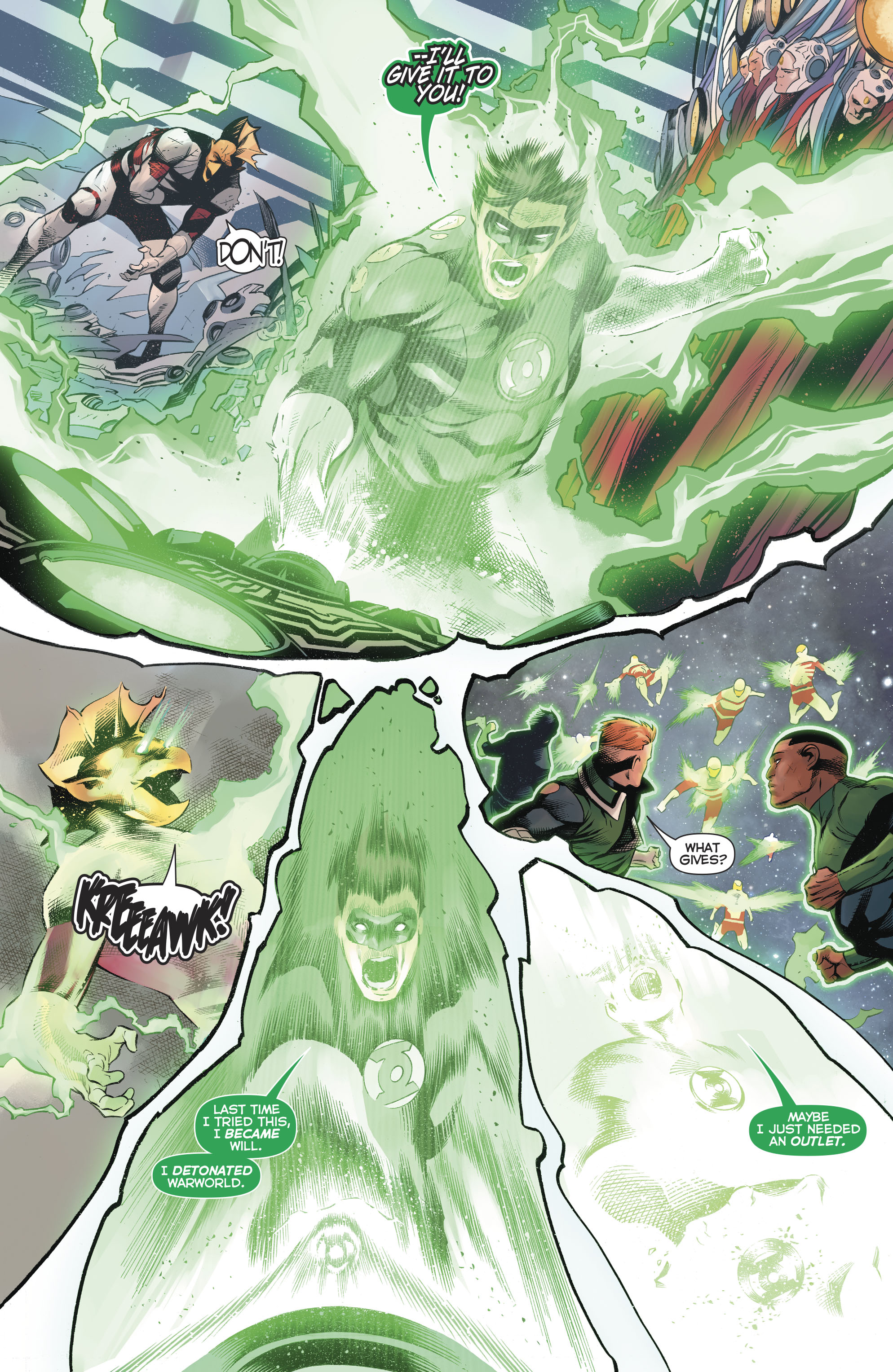 哈尔乔丹和绿灯侠军团(2016-): Chapter 50 - Page 哈尔乔丹和绿灯侠军团(2016-)
