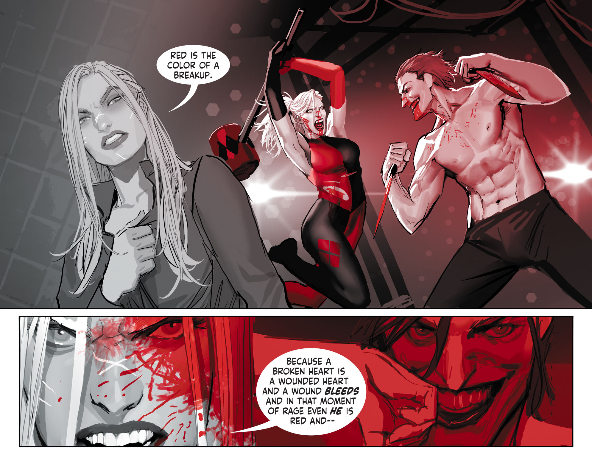 Harley Quinn Black White Red 2020 Chapter 1 Page 12