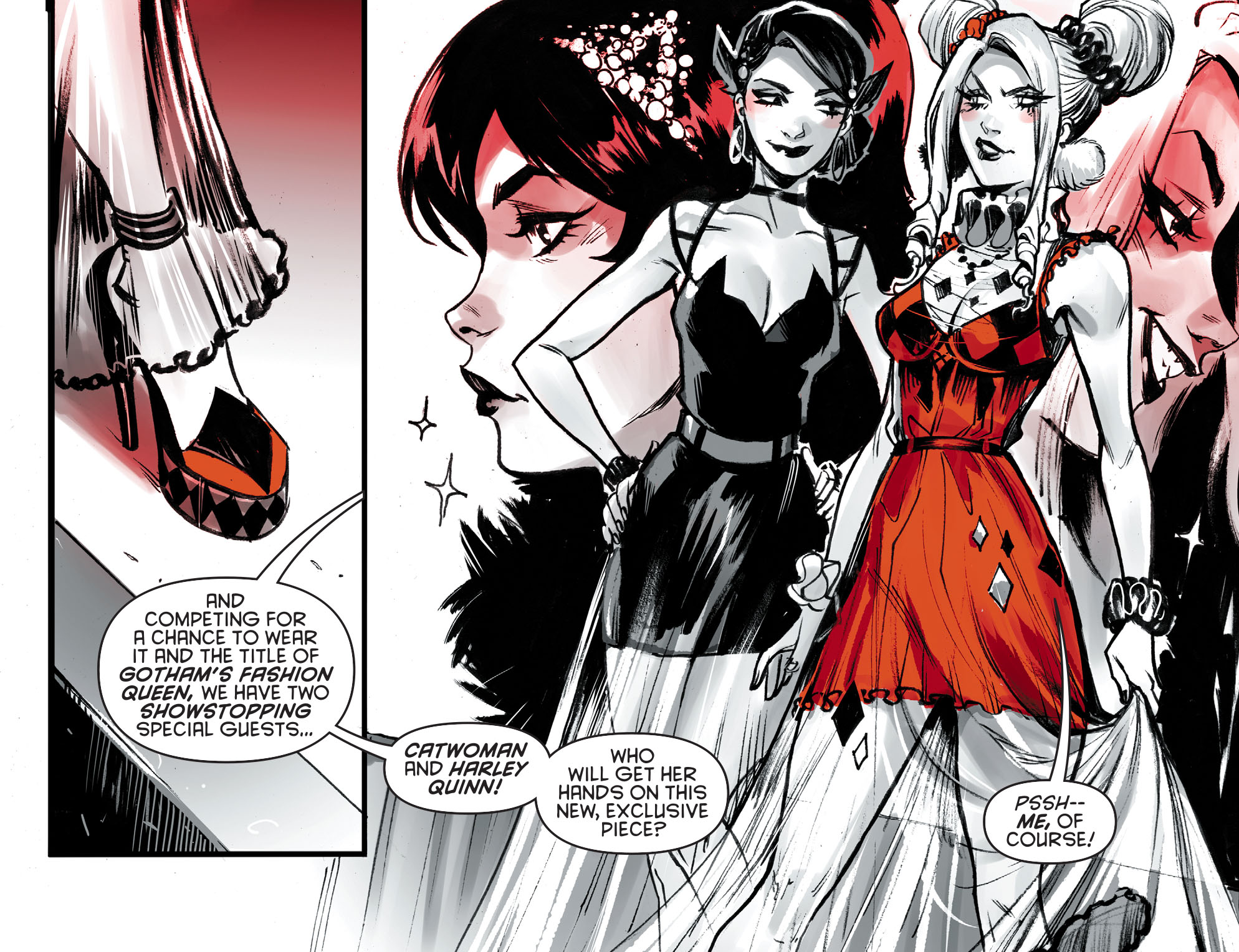 Harley Quinn Black White Red 2020 Chapter 2 Page 15