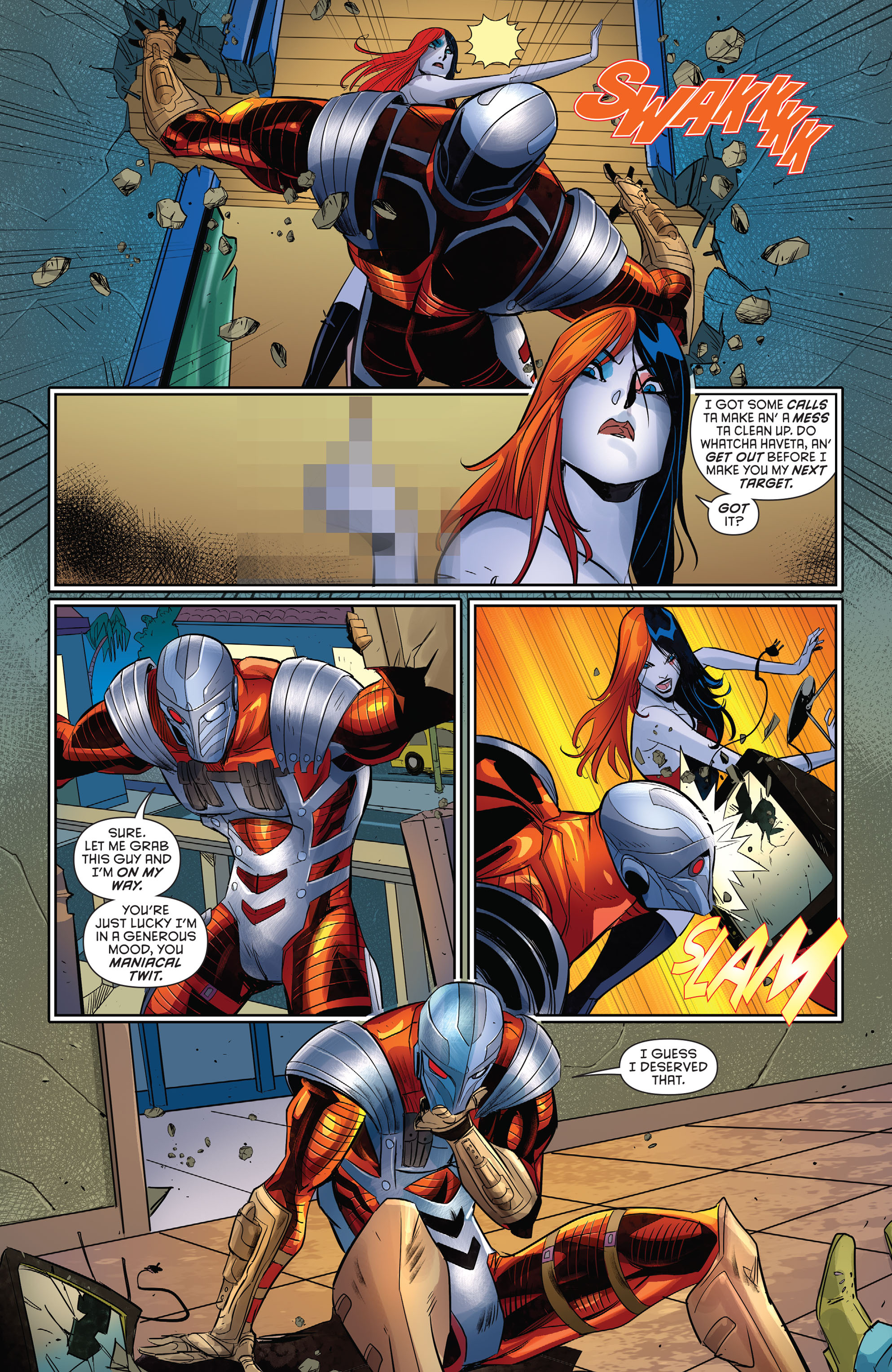Harley Quinn的精选(2016): Chapter 1 - Page Harley Quinn的精选(2016)