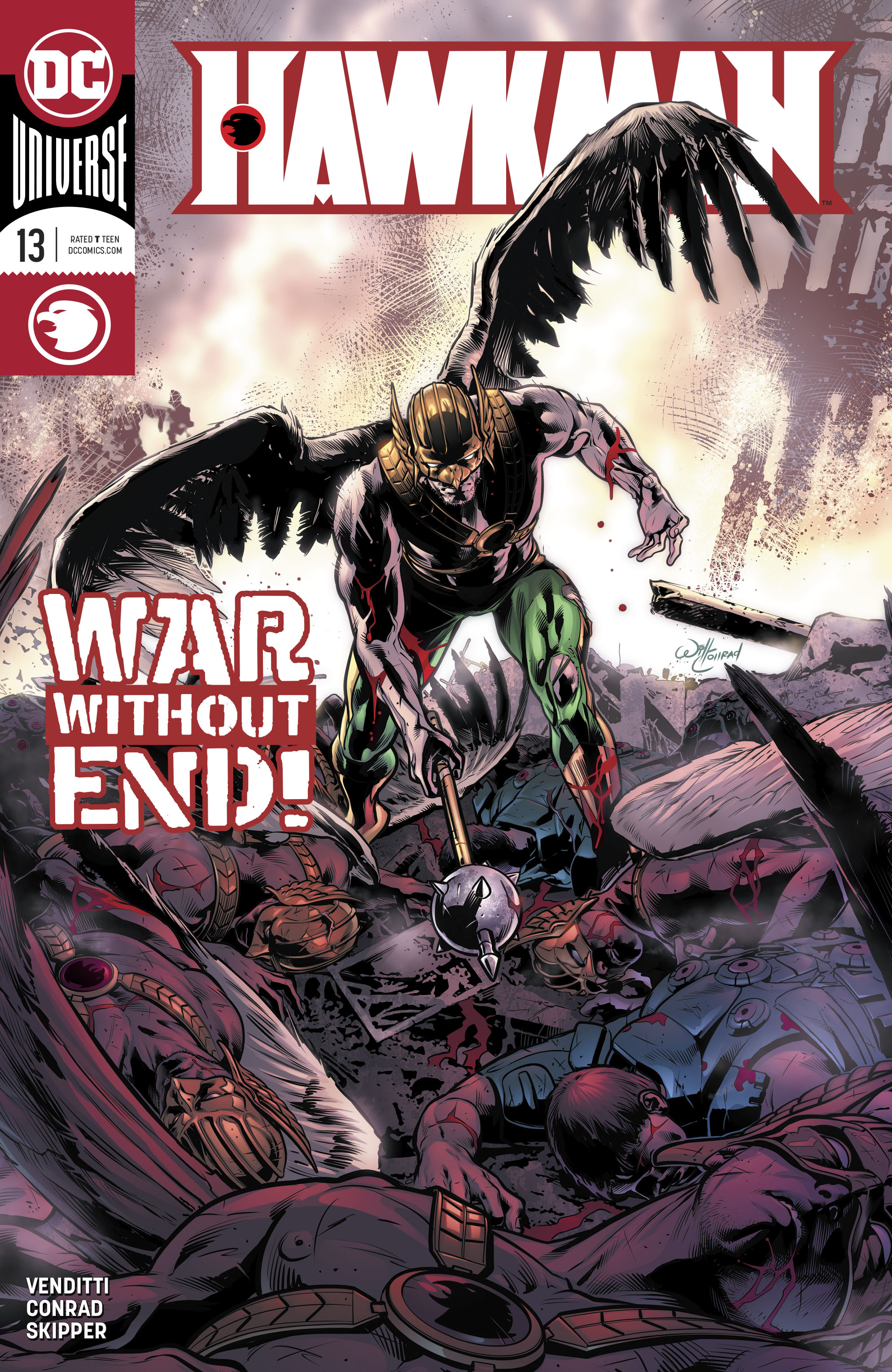 Hawkman (2018-): Chapter 13 - Page 1