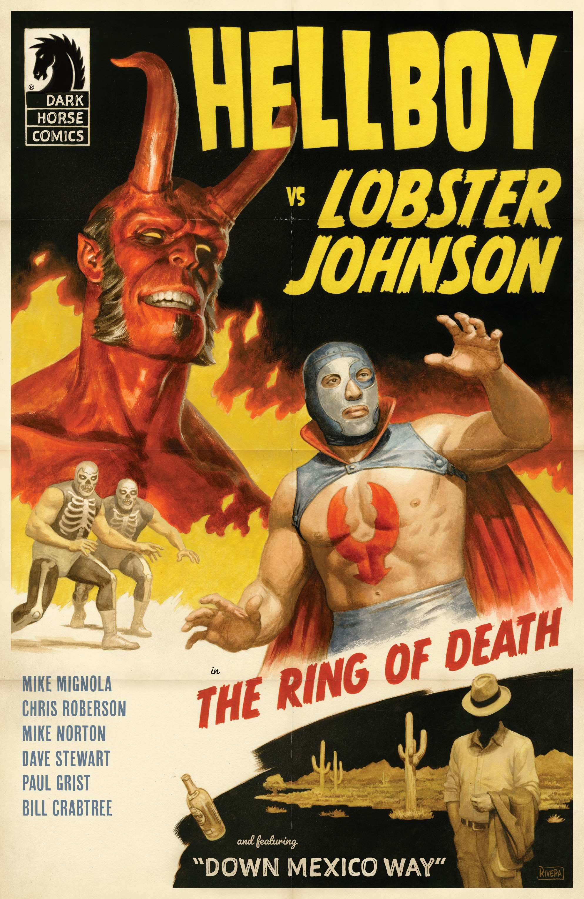 Hellboy vs. Lobster Johnson in: The Ring of Death (2019-): Chapter 1 - Page 1