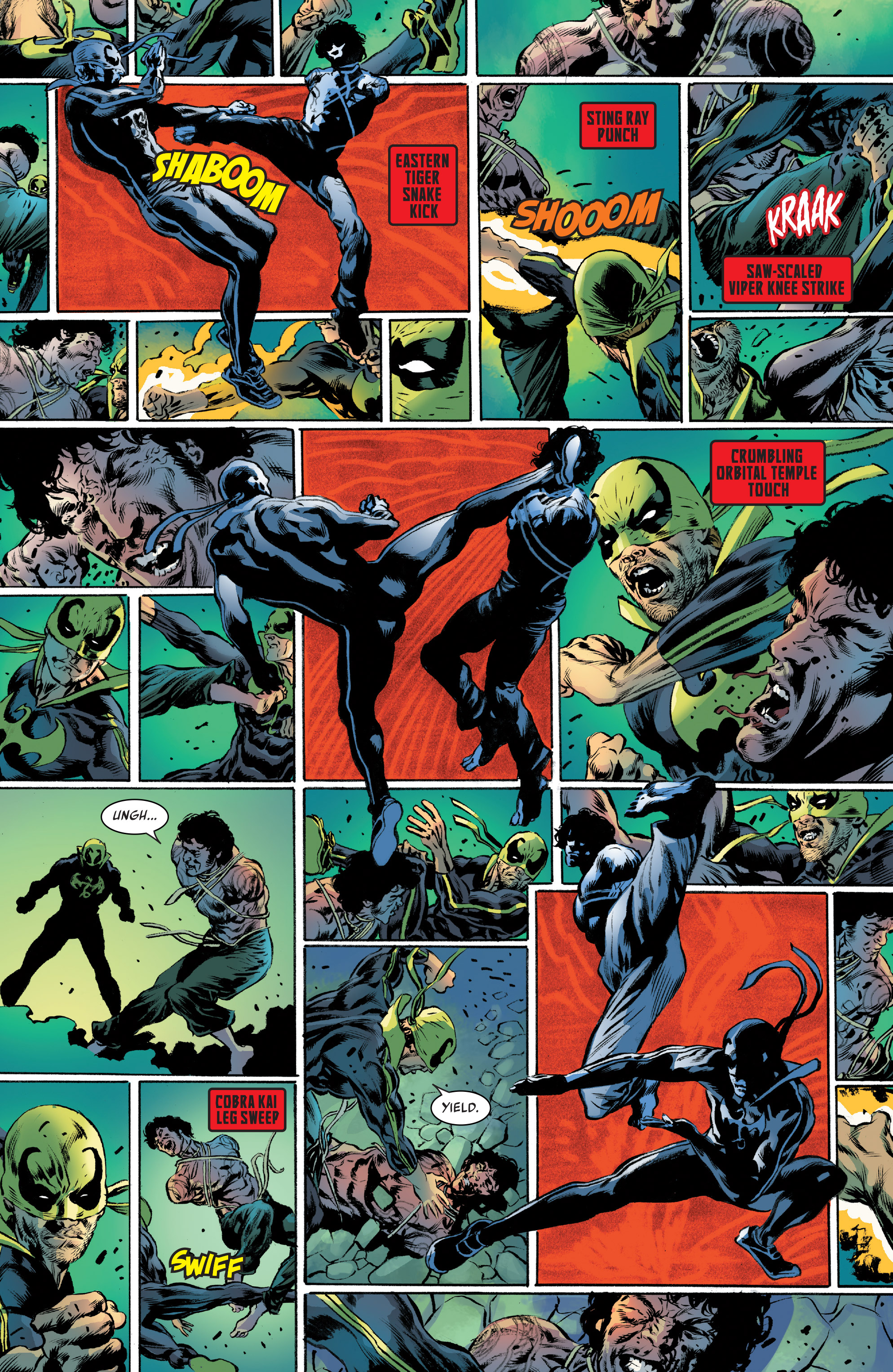 Iron Fist (2017-) Chapter 3 - Page 17