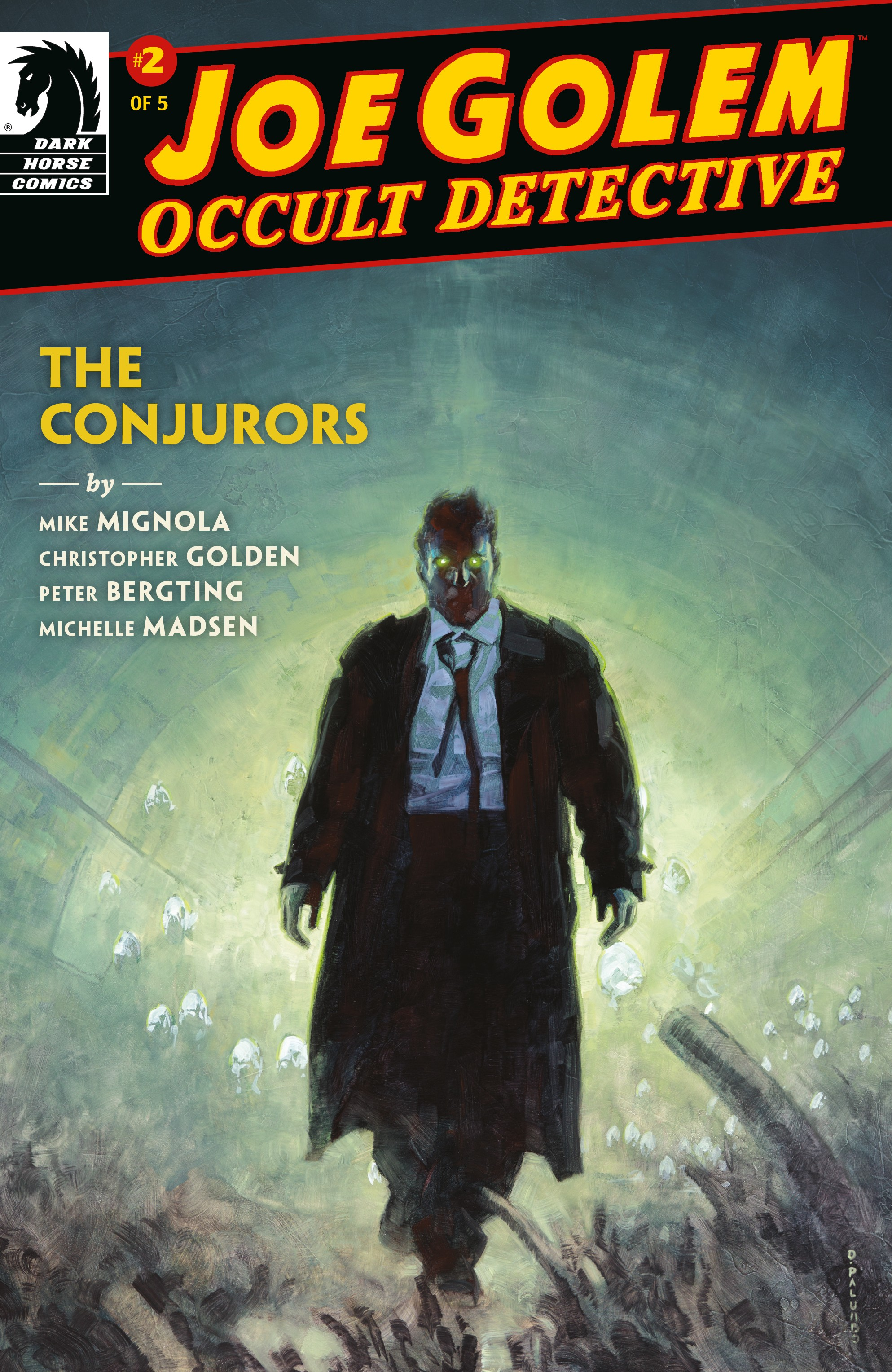 Joe Golem: Occult Detective�The Conjurors (2019-): Chapter 2 - Page 1