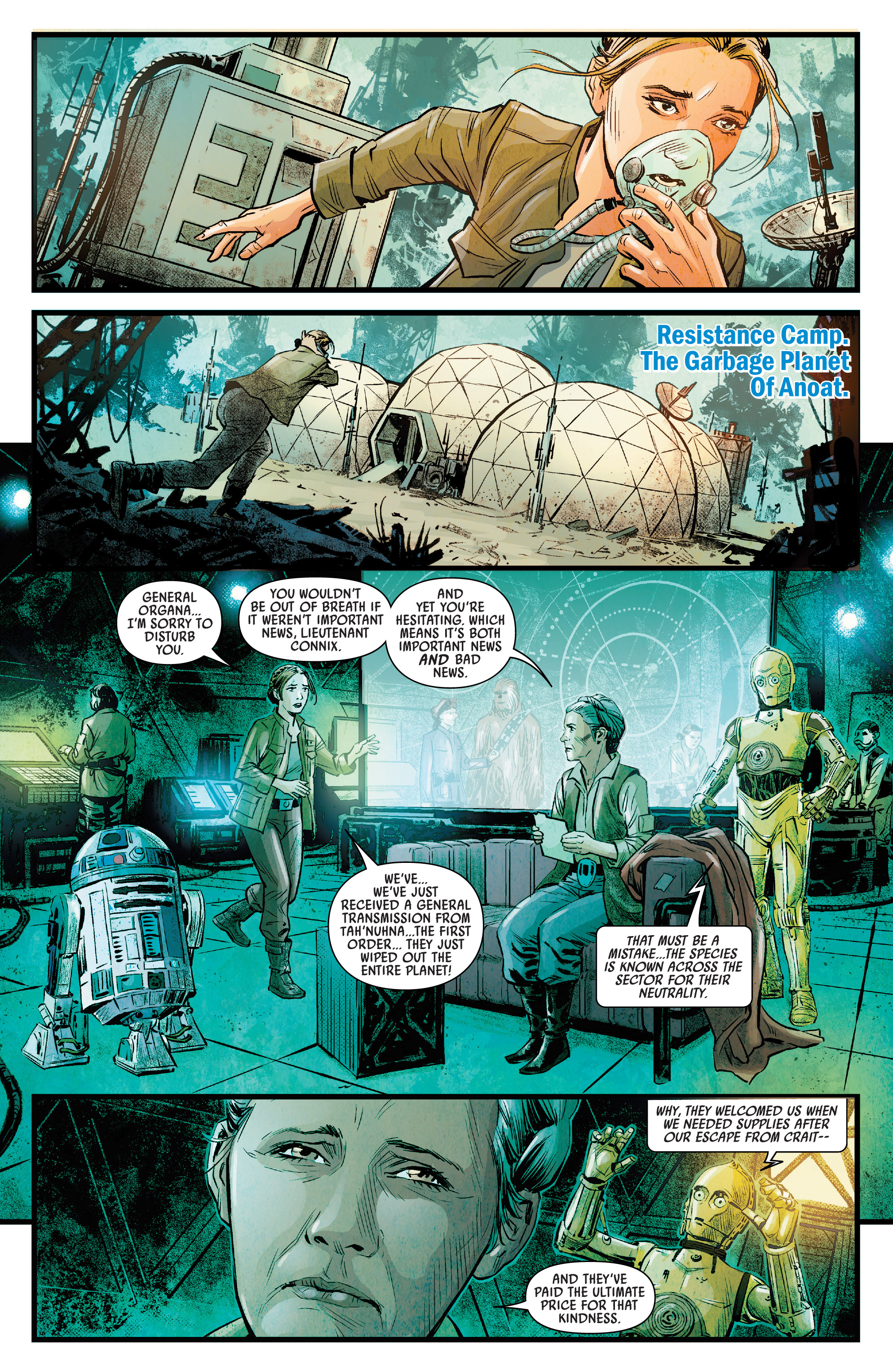 Journey To Star Wars The Rise Of Skywalker Allegiance 2019 Chapter 1 Page 9