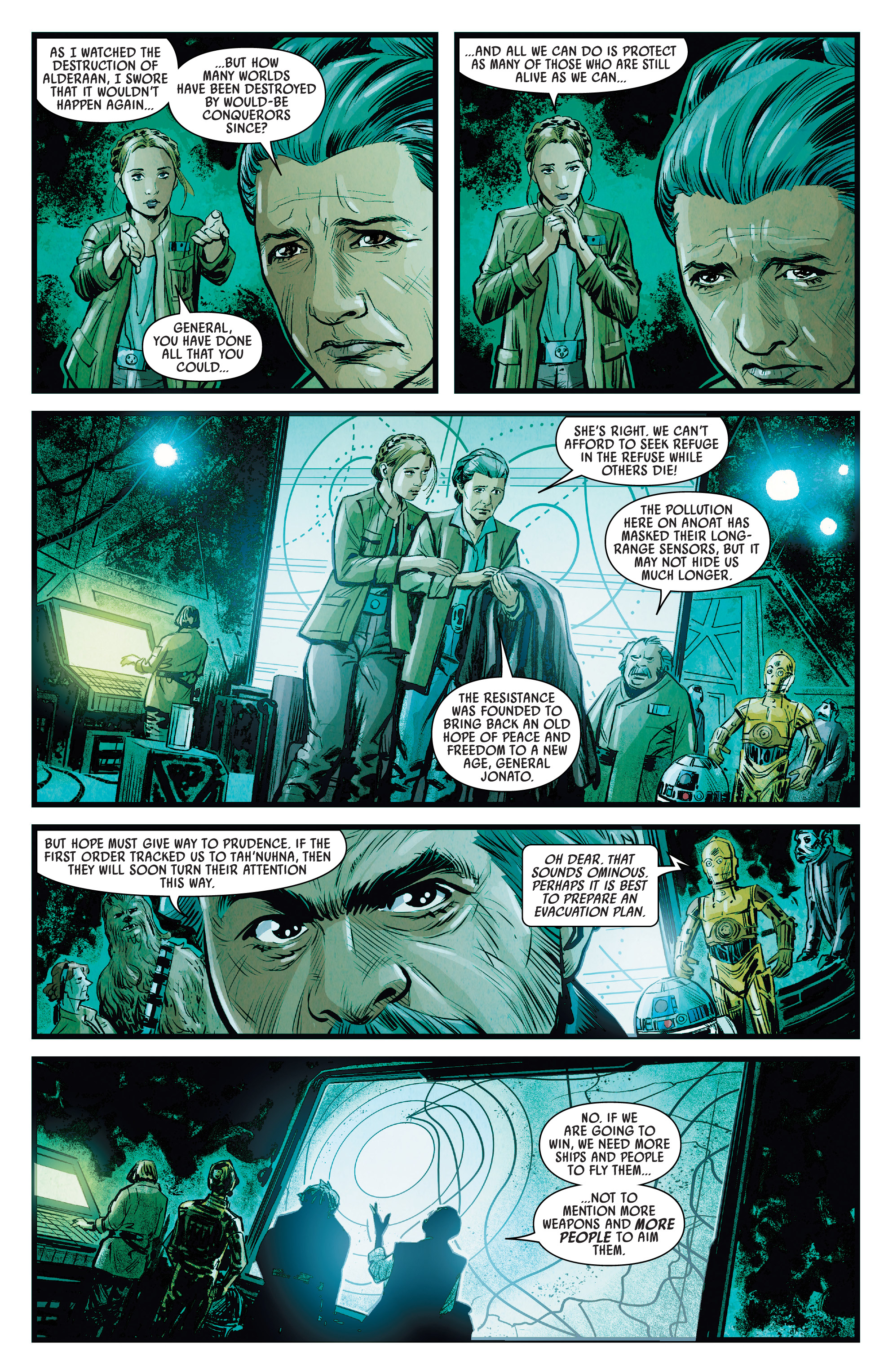 Journey To Star Wars The Rise Of Skywalker Allegiance 2019 Chapter 1 Page 10