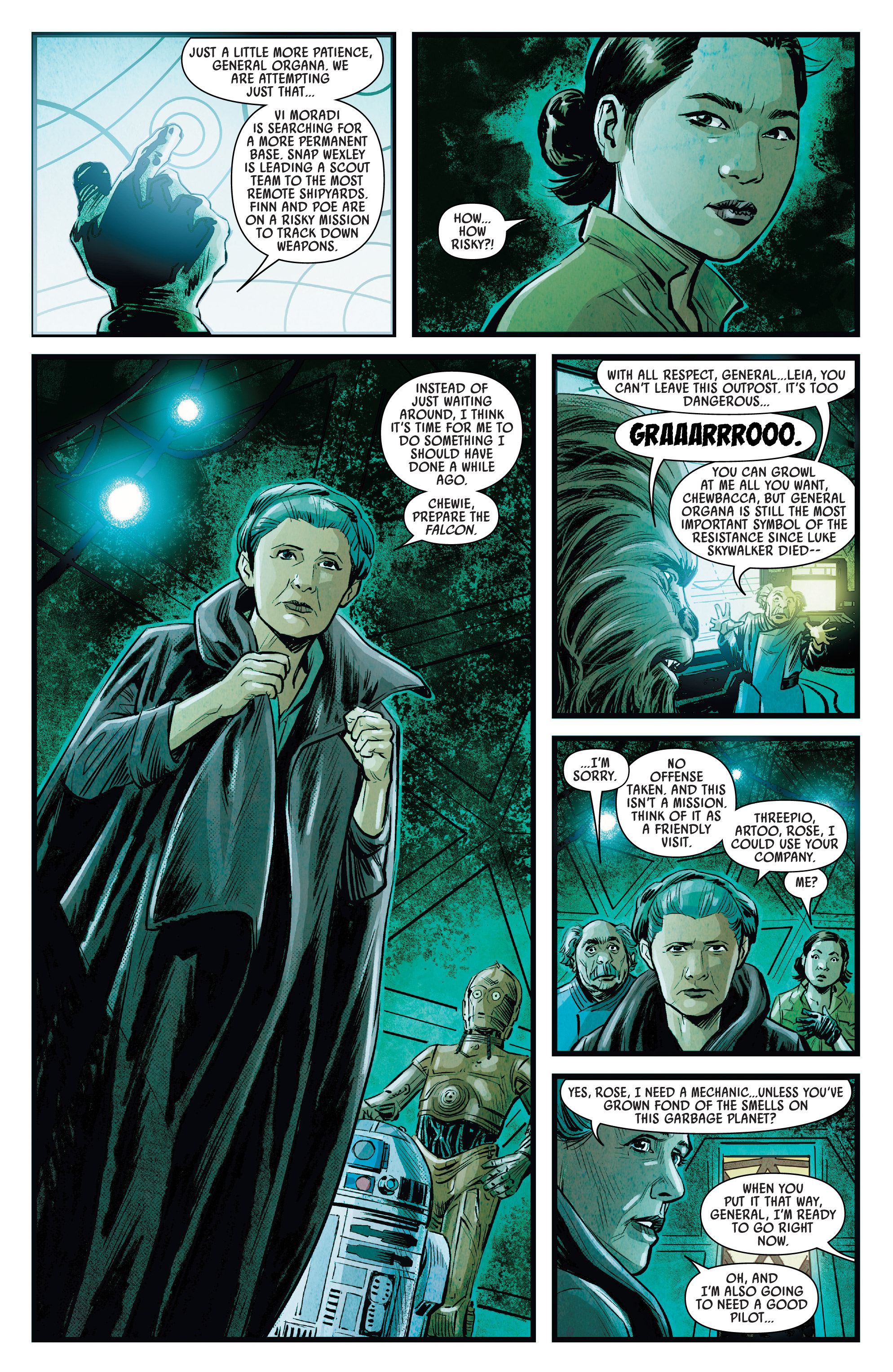 Journey To Star Wars The Rise Of Skywalker Allegiance 2019 Chapter 1 Page 11