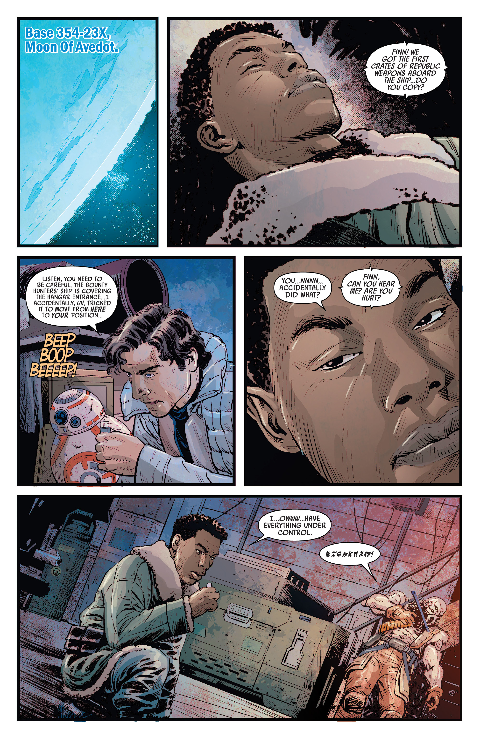 Journey To Star Wars The Rise Of Skywalker Allegiance 2019 Chapter 4 Page 8
