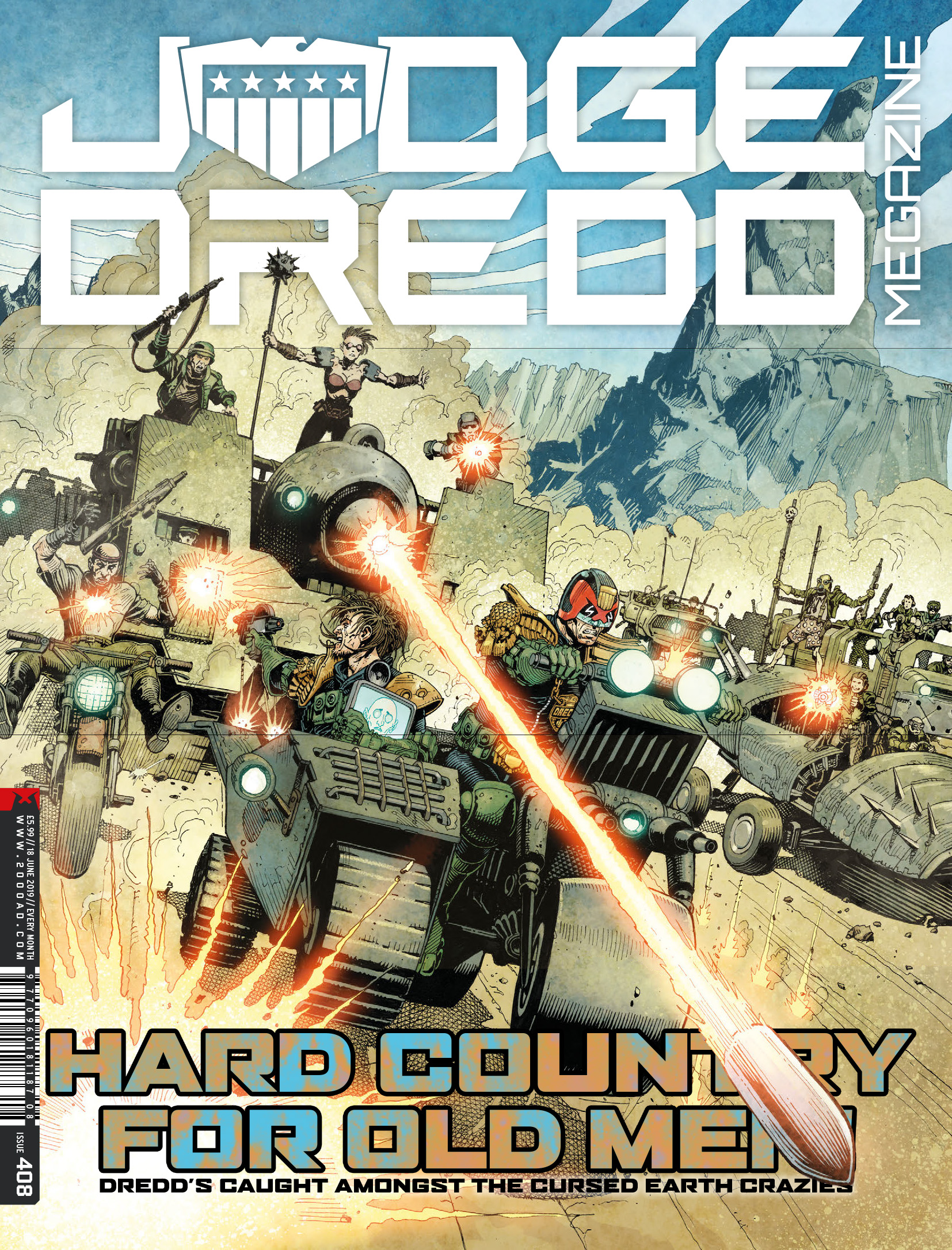 Judge Dredd Megazine (2003-): Chapter 408 - Page 1