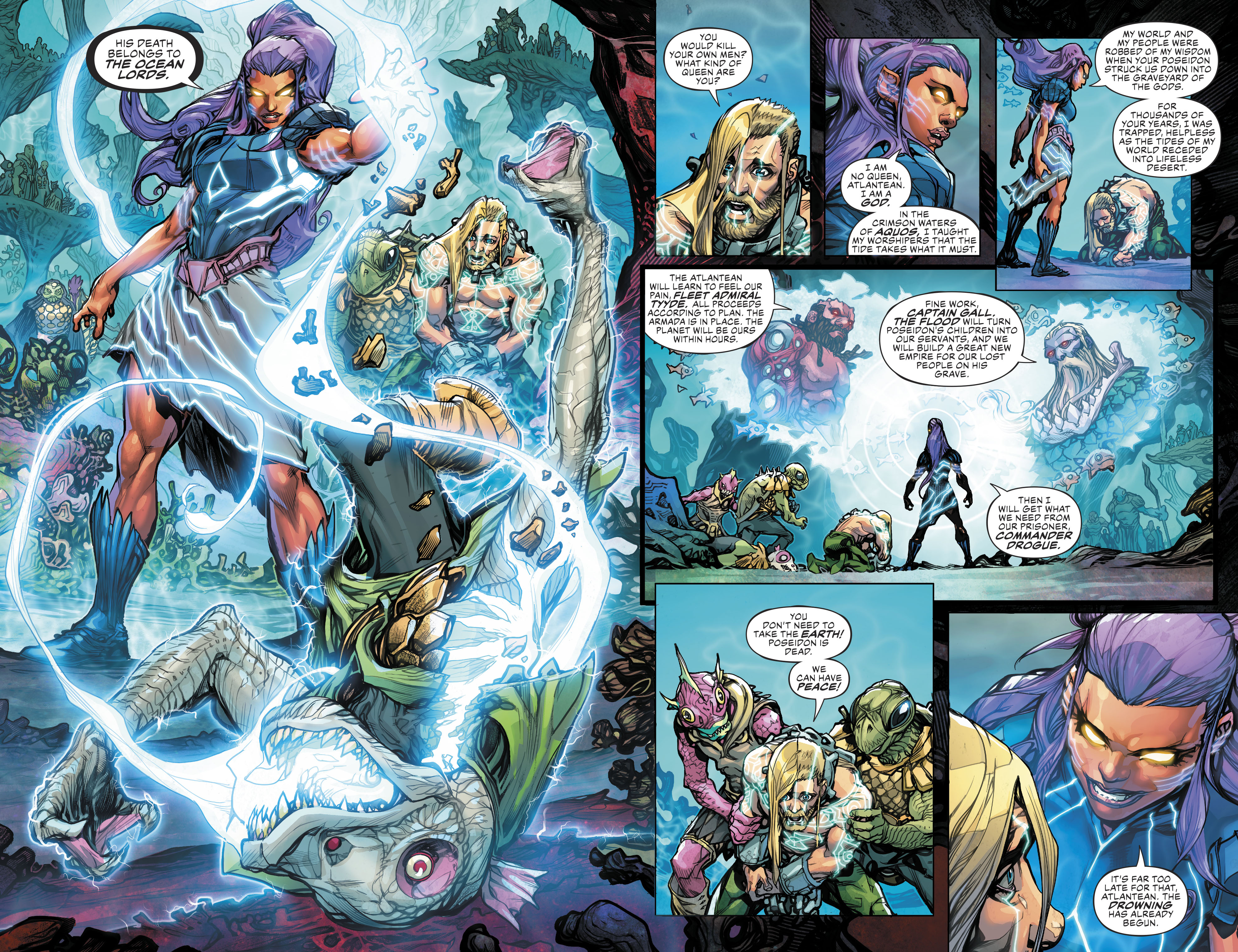 Justice League/Aquaman: Drowned Earth Special (2018) Chapter 1 ...