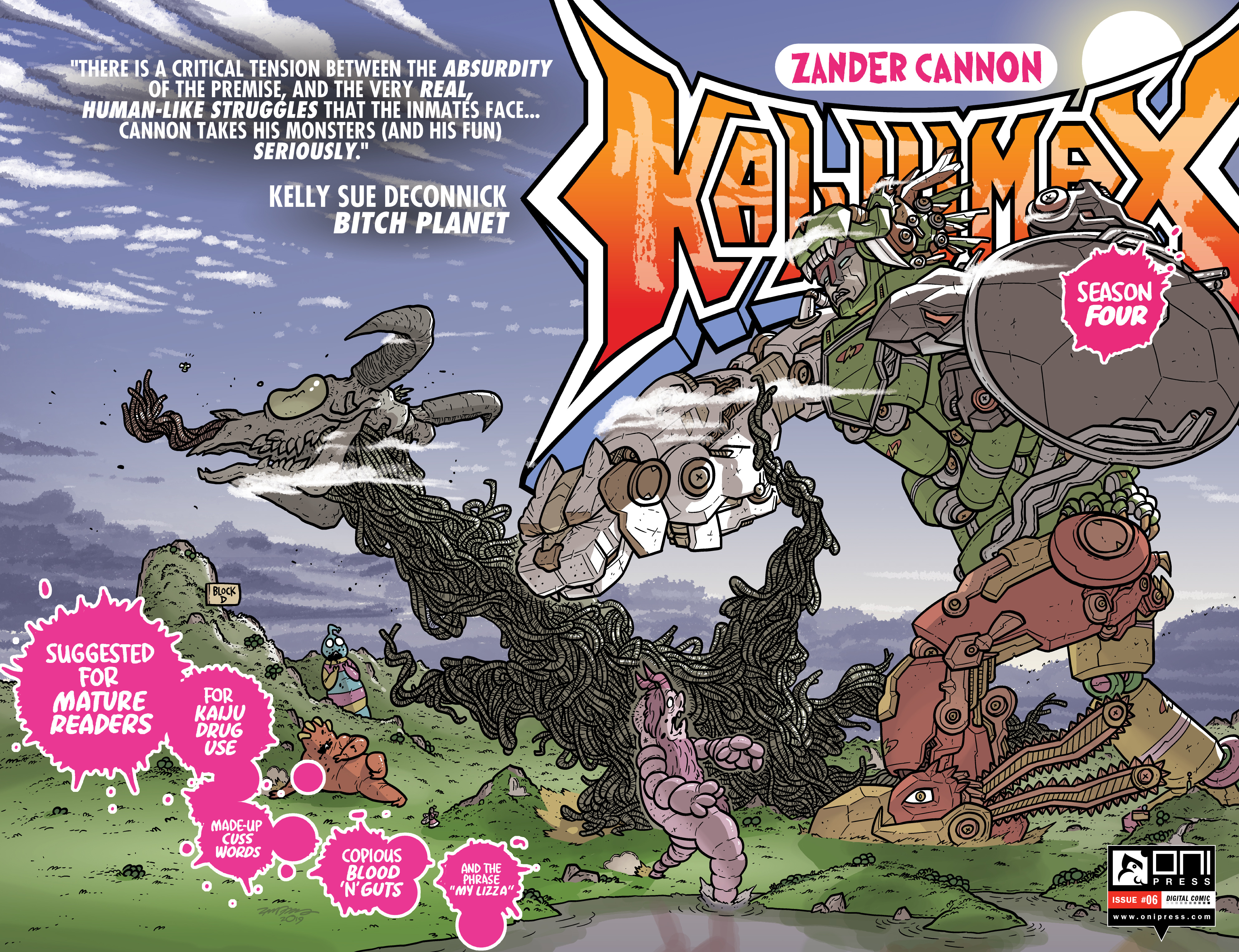 Kaijumax: Season Four (2018-): Chapter 6 - Page 1