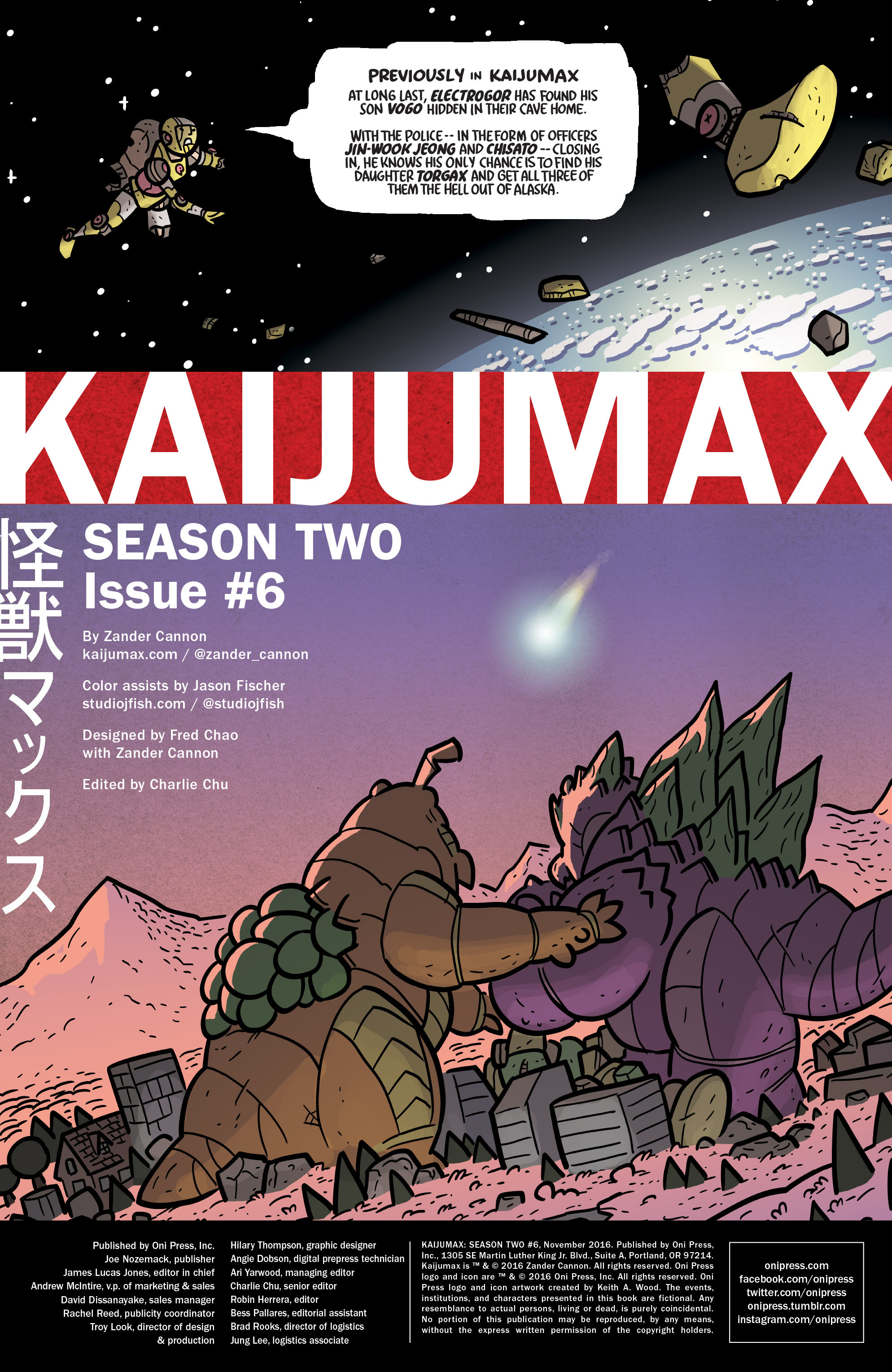 Kaijumax: Season Two (2016): Chapter 6 - Page Kaijumax: Season Two (2016)