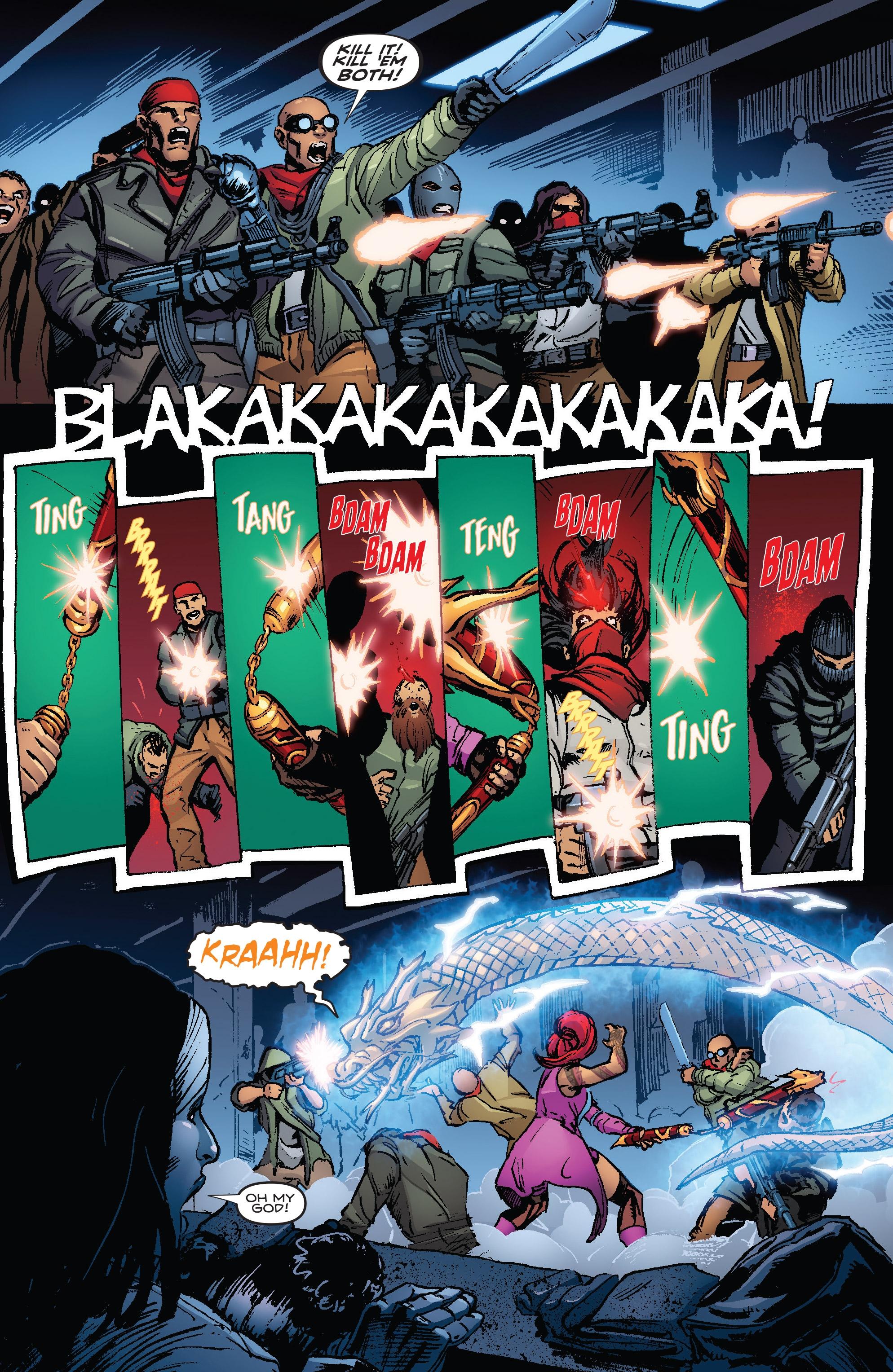 Killer Instinct Comic Book
