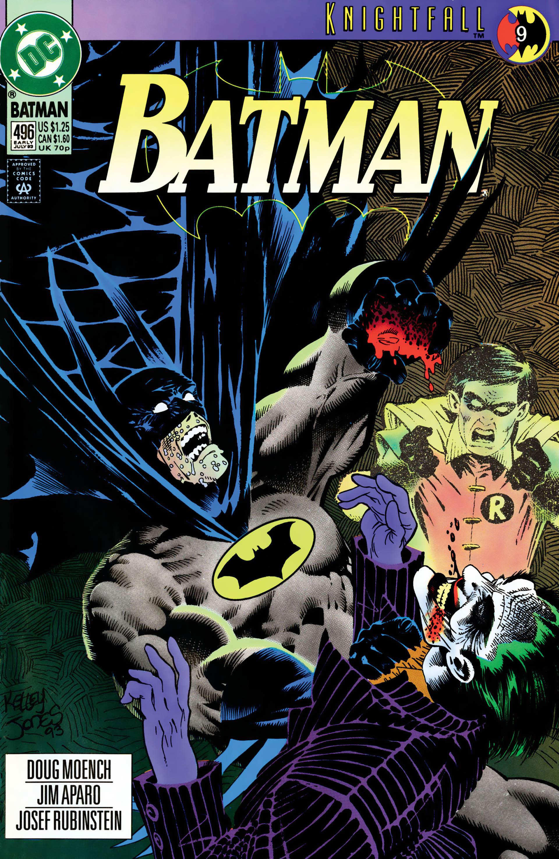 USA, 15 Batman  15 Knightfall part 15, 15 pages Jim Aparo ...