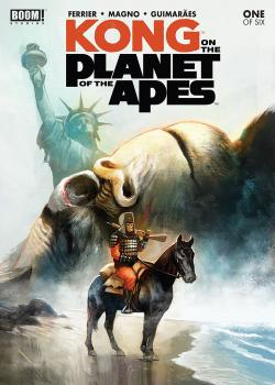 Kong on the Planet of the Apes (2017)