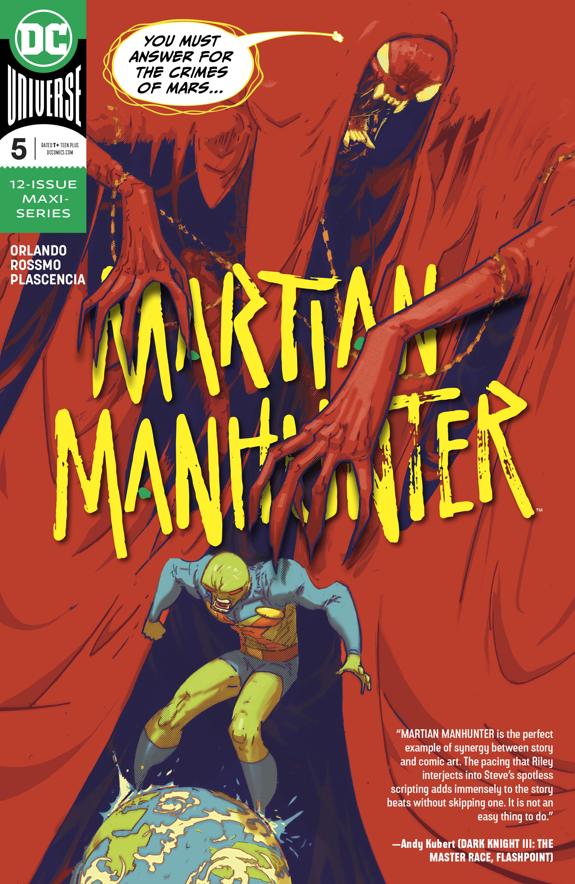 Martian Manhunter (2018-): Chapter 5 - Page 1