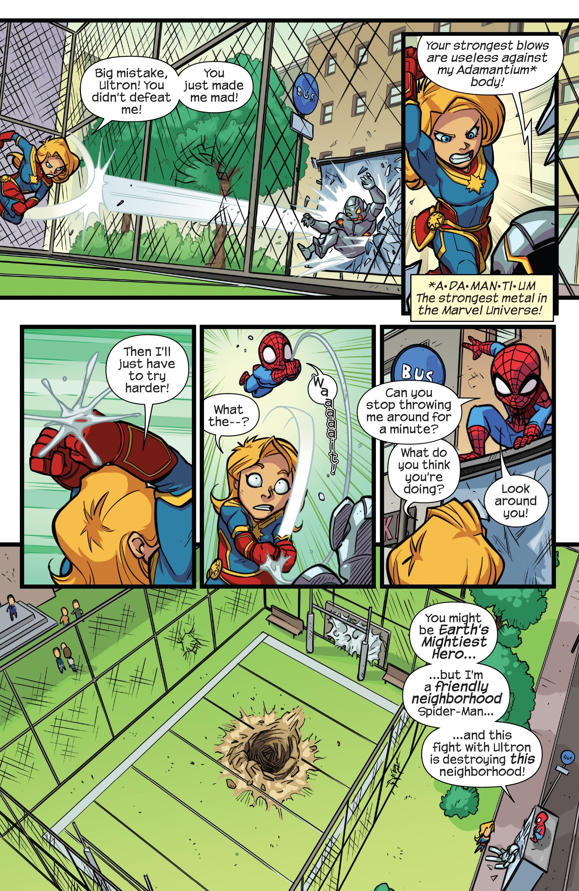 漫威超级英雄历险记:漫威船长 - 学校第一天(2018年): Chapter 1 - Page 漫威超级英雄历险记:漫威船长 - 学校第一天(2018年)