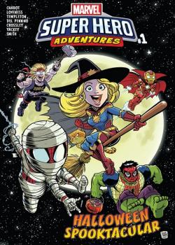 Marvel Super Hero Adventures: Captain Marvel - Halloween Spooktacular (2018)