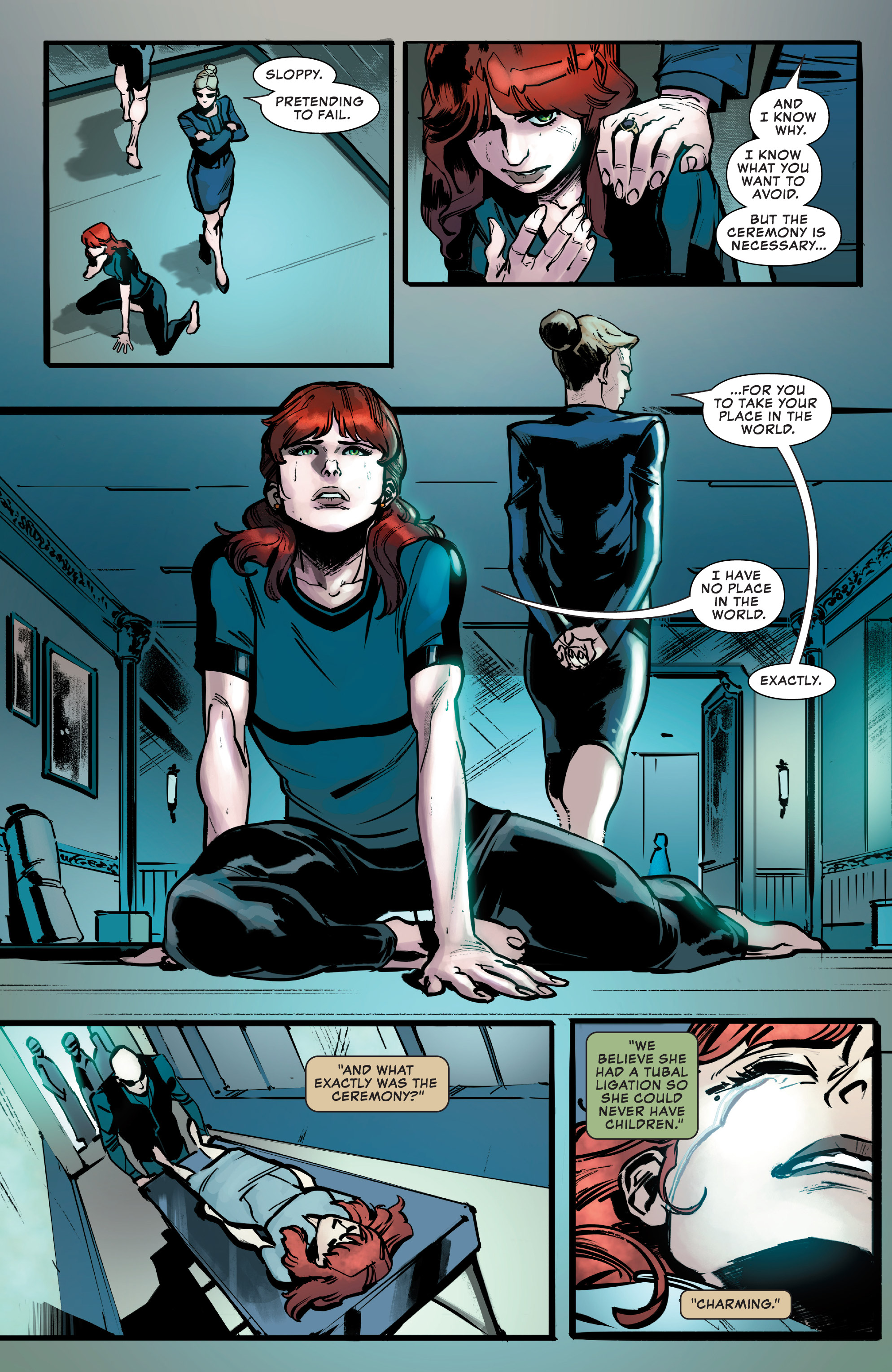 Marvel S Black Widow Prelude 2020 Chapter 1 Page 14