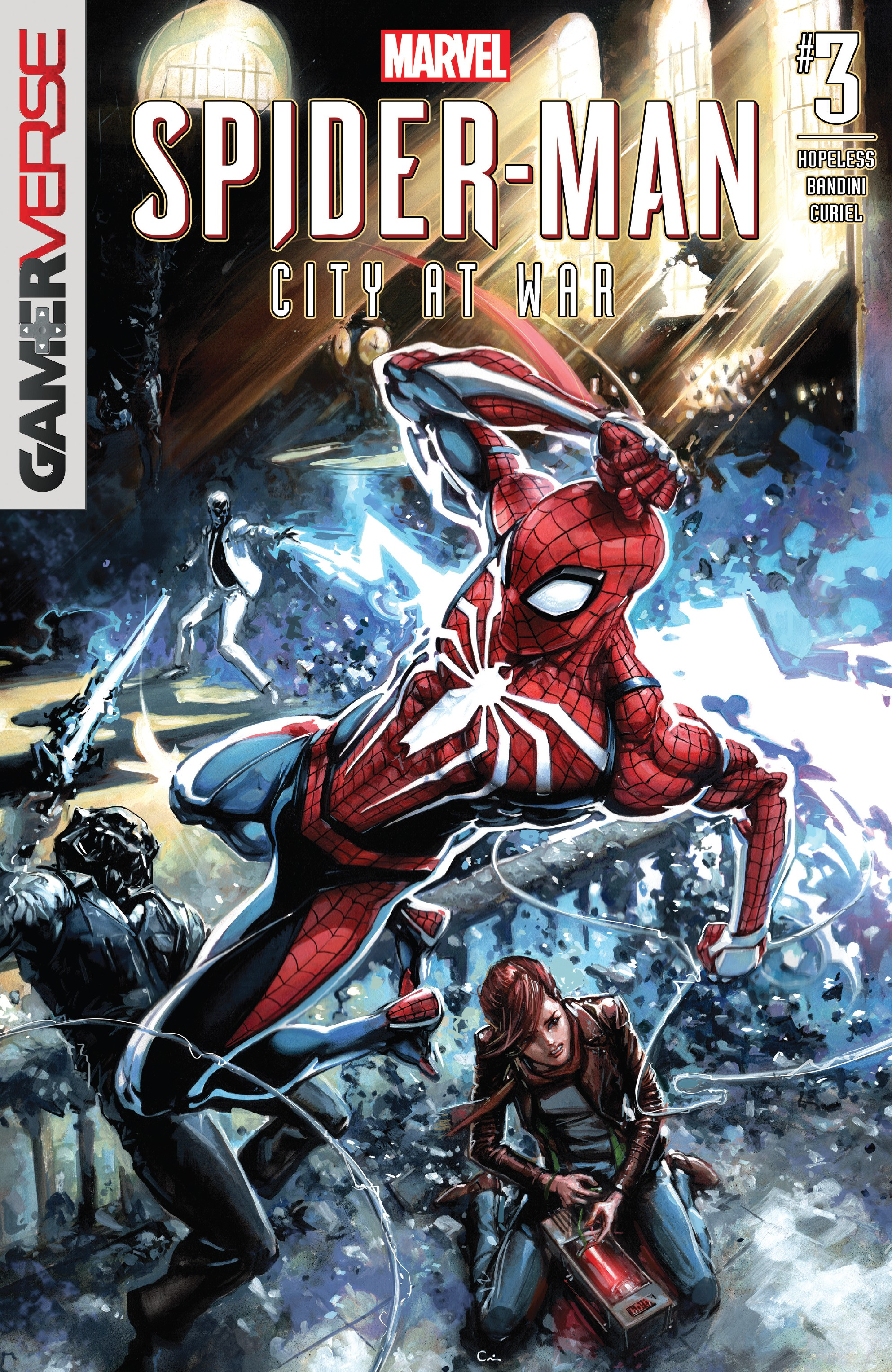 Marvel's Spider-Man: City At War (2019): Chapter 3 - Page 1